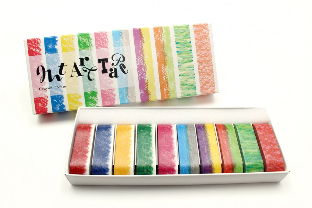 mt art tape crayon 15mm (MTART01) | Washi Wednesday