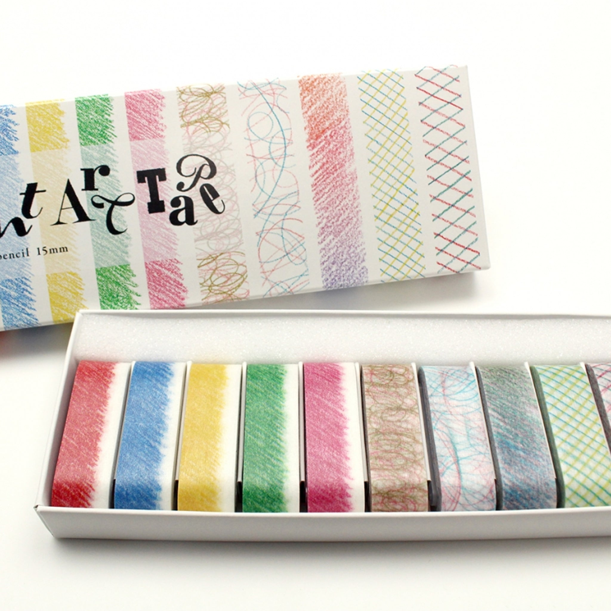 MT Art Washi Tape Colored Pencils 15mm