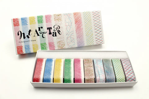 mt art tape color pencil 15mm