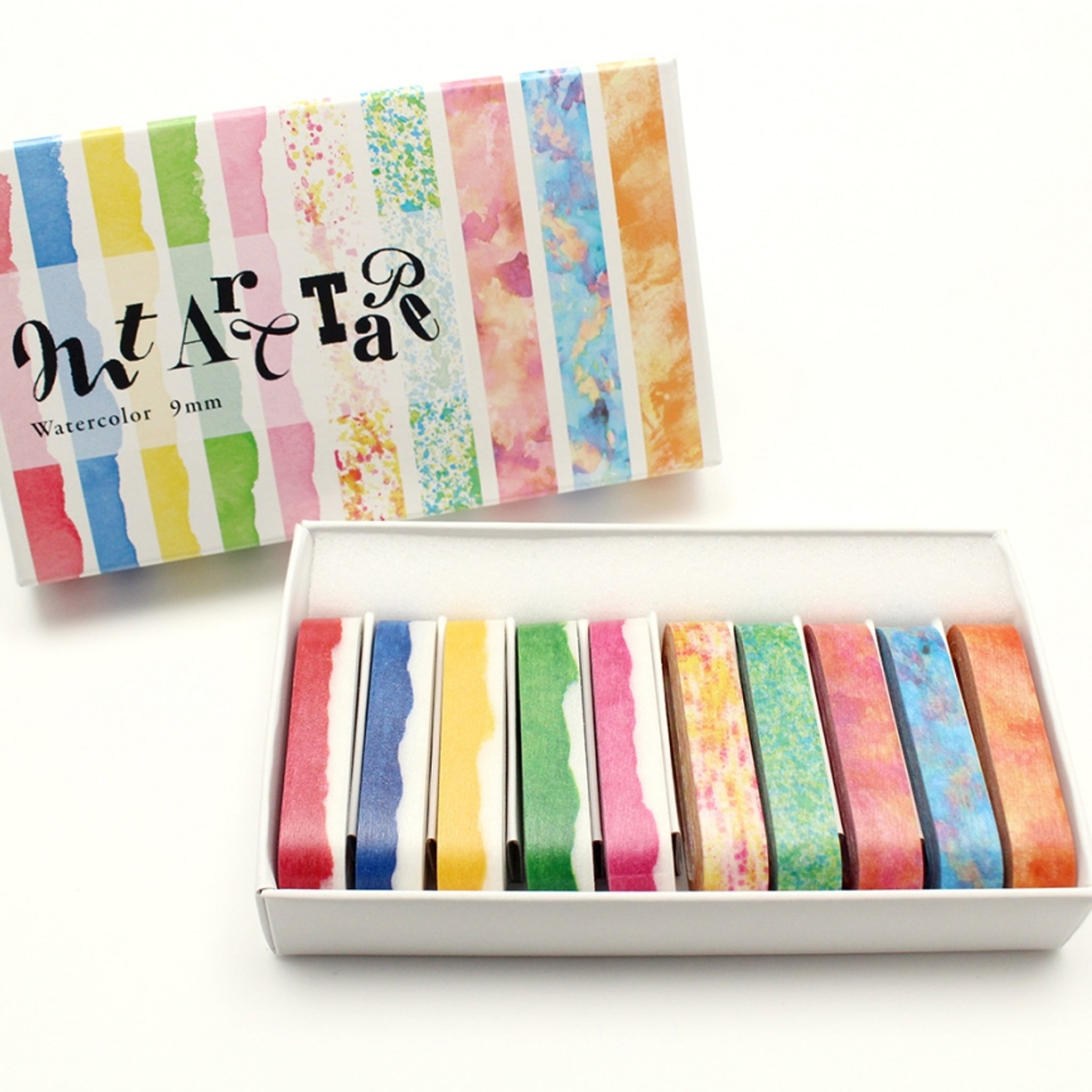 MT Art Washi Tape Watercolors 9mm