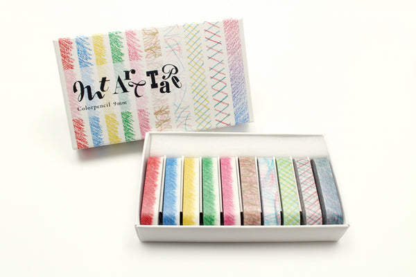 mt art tape color pencil 9mm (MTART06) | Washi Wednesday