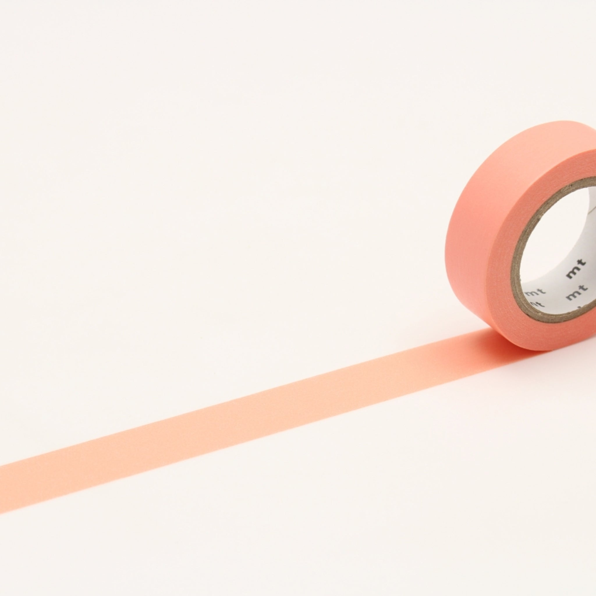 MT Basic Washi Tape Salmon Pink