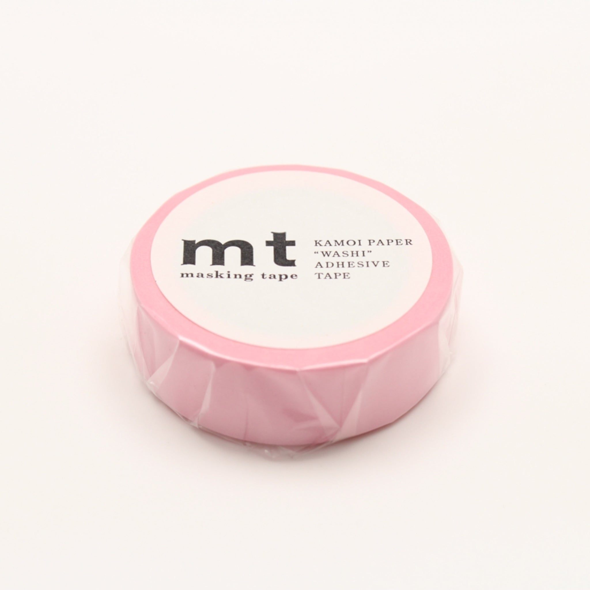 MT Basic Washi Tape Rose Pink