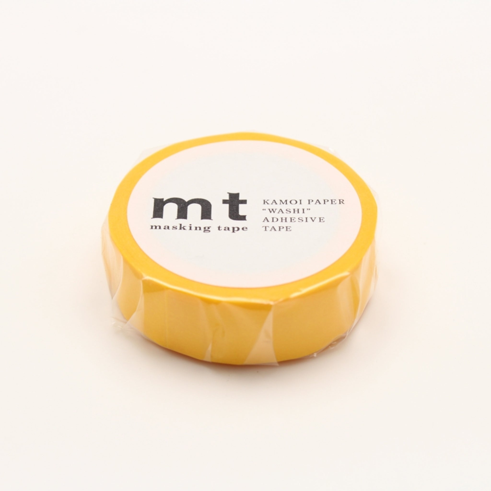 MT Basic Washi Tape Yellow