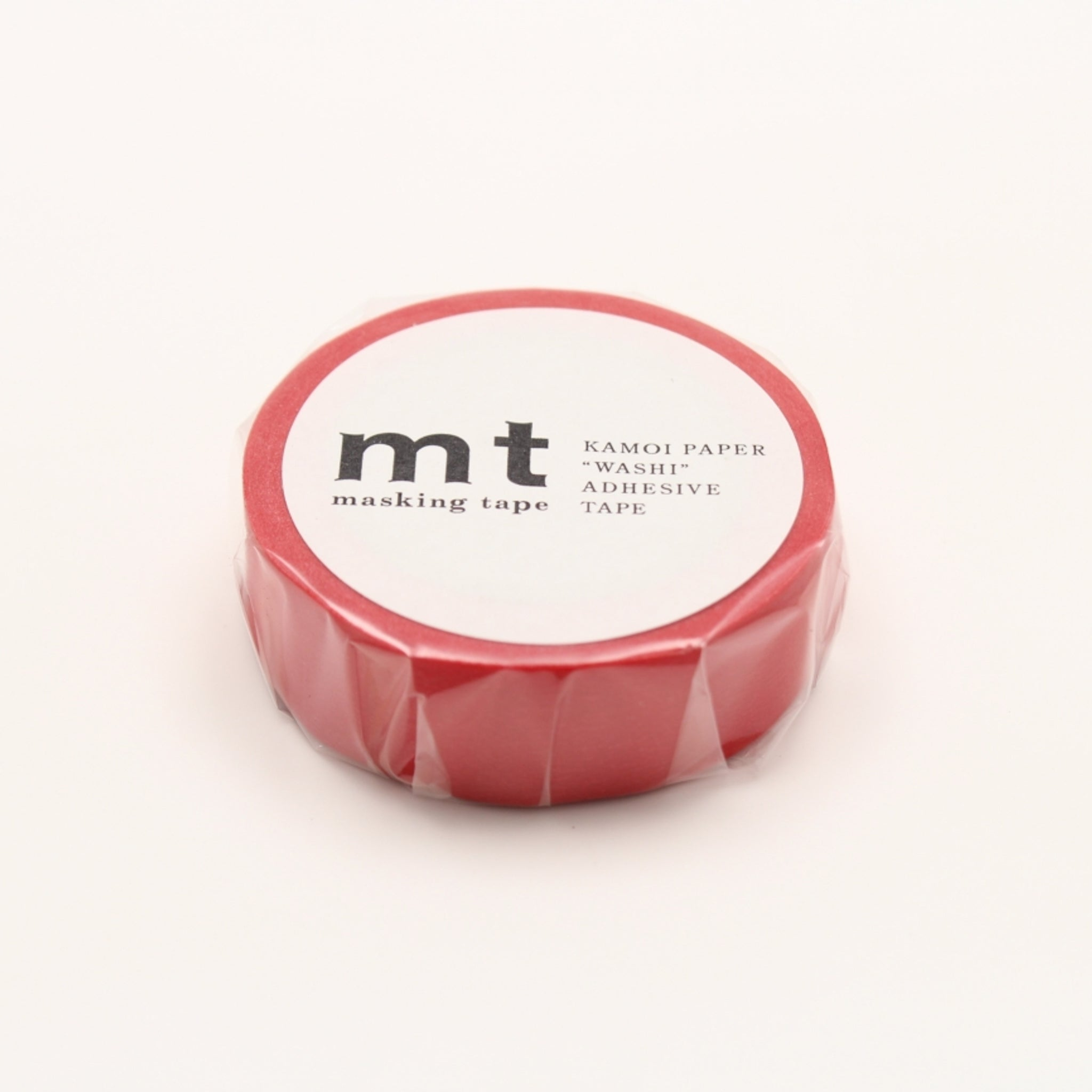 MT Basic Washi Tape Red