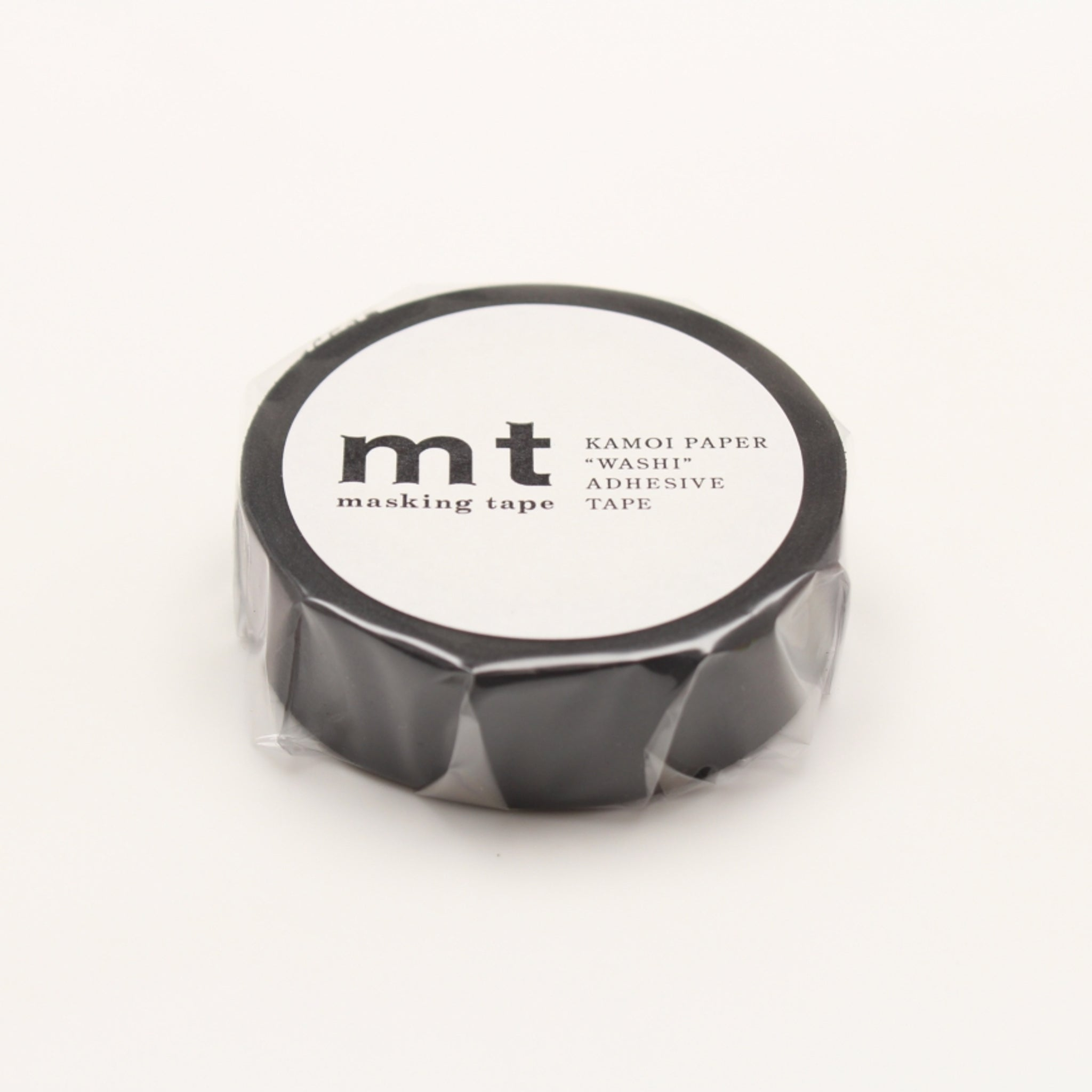 MT Basic Washi Tape Matte Black
