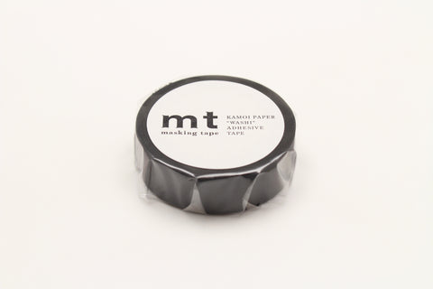 mt Matte Black washi tape