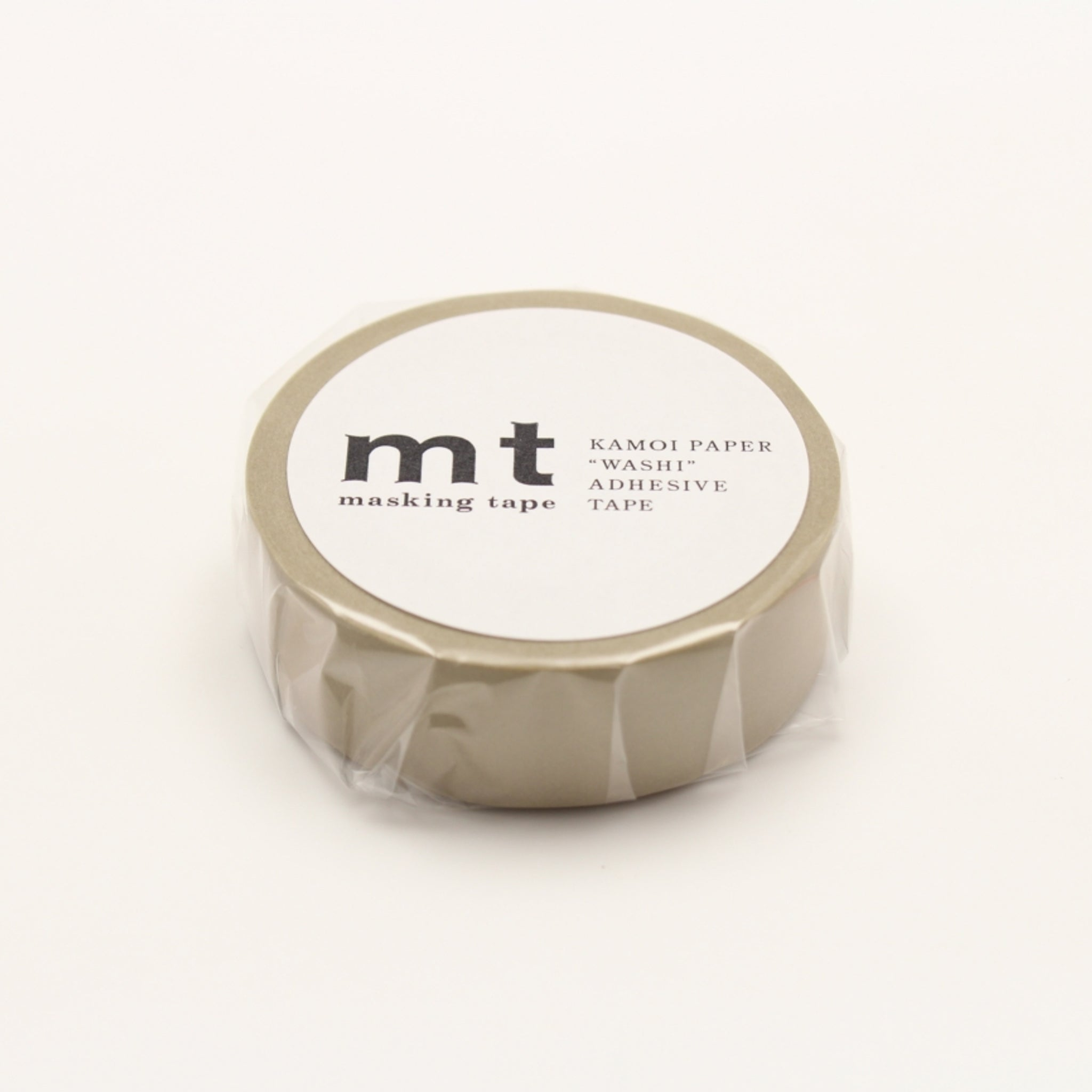 MT Basic Washi Tape Beige