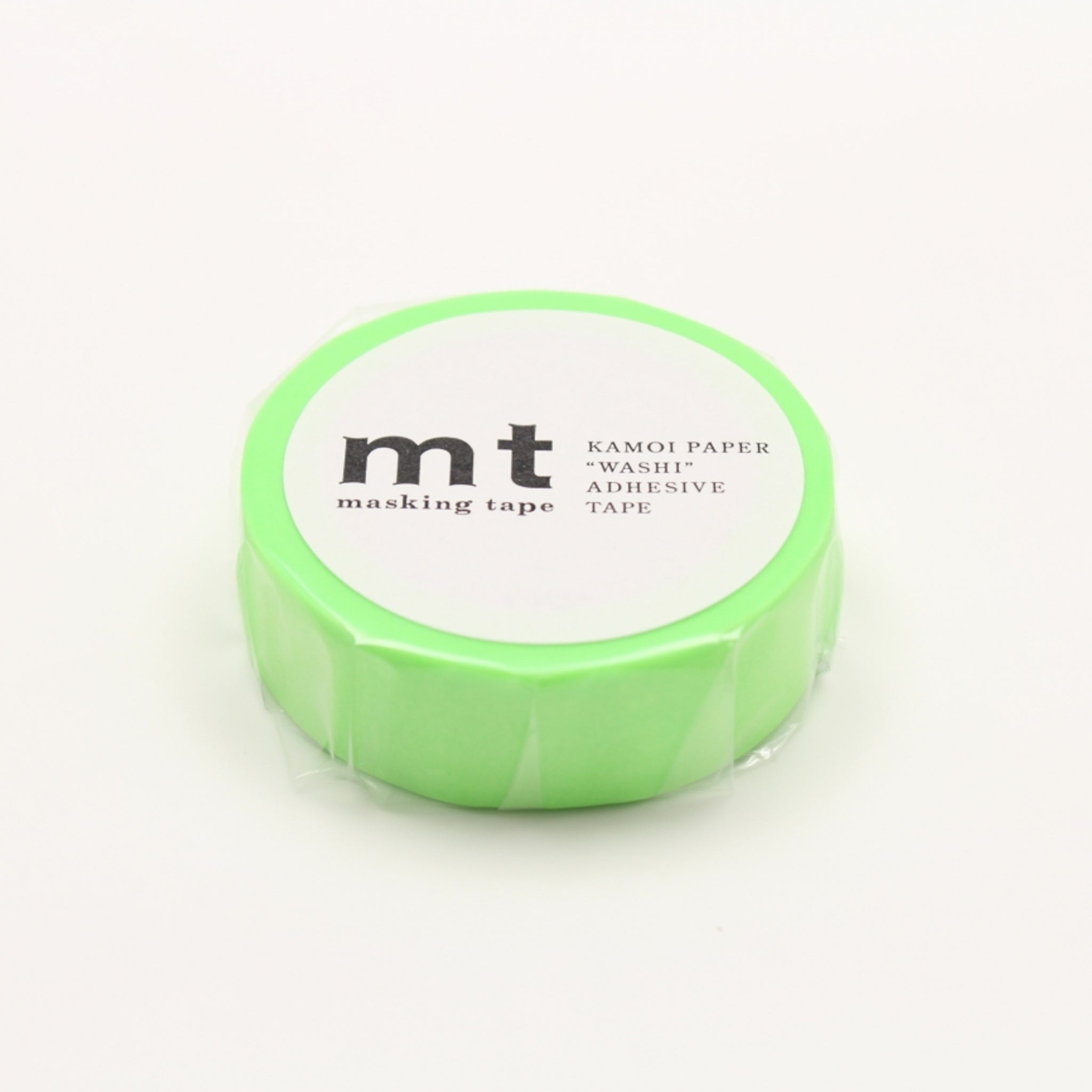 MT Basic Washi Tape Shocking Green