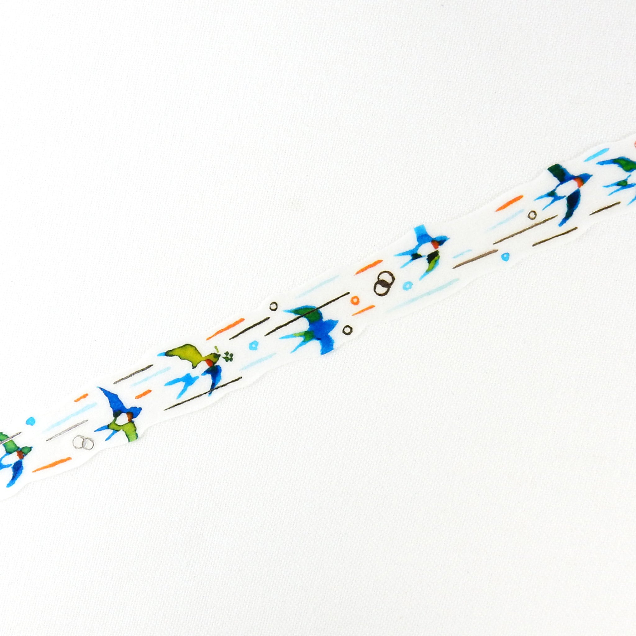 Round Top x Space Craft Washi Tape Swallow