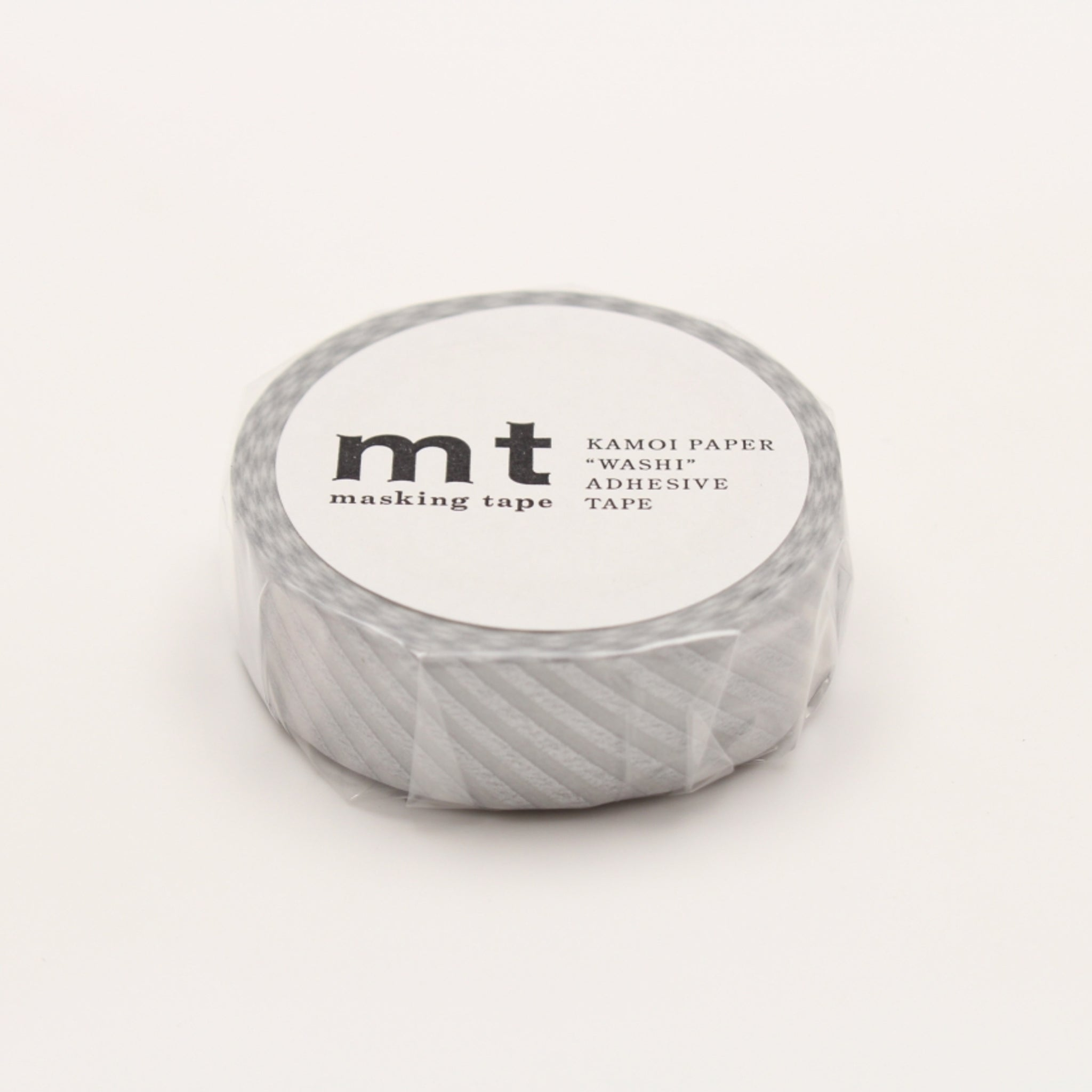 MT Deco Washi Tape Stripe Silver