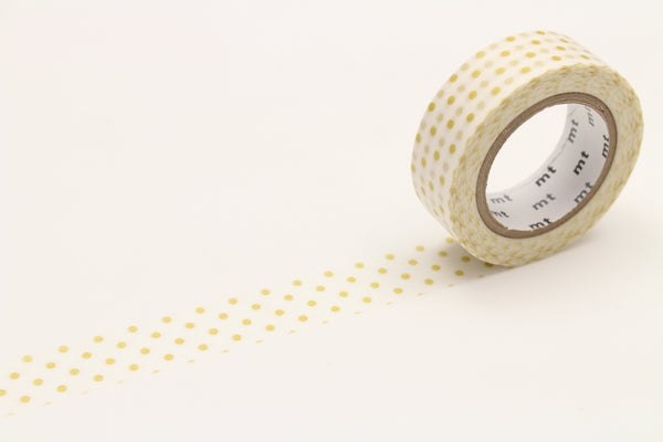 MT Dot S Gold washi tape (MT01D151)