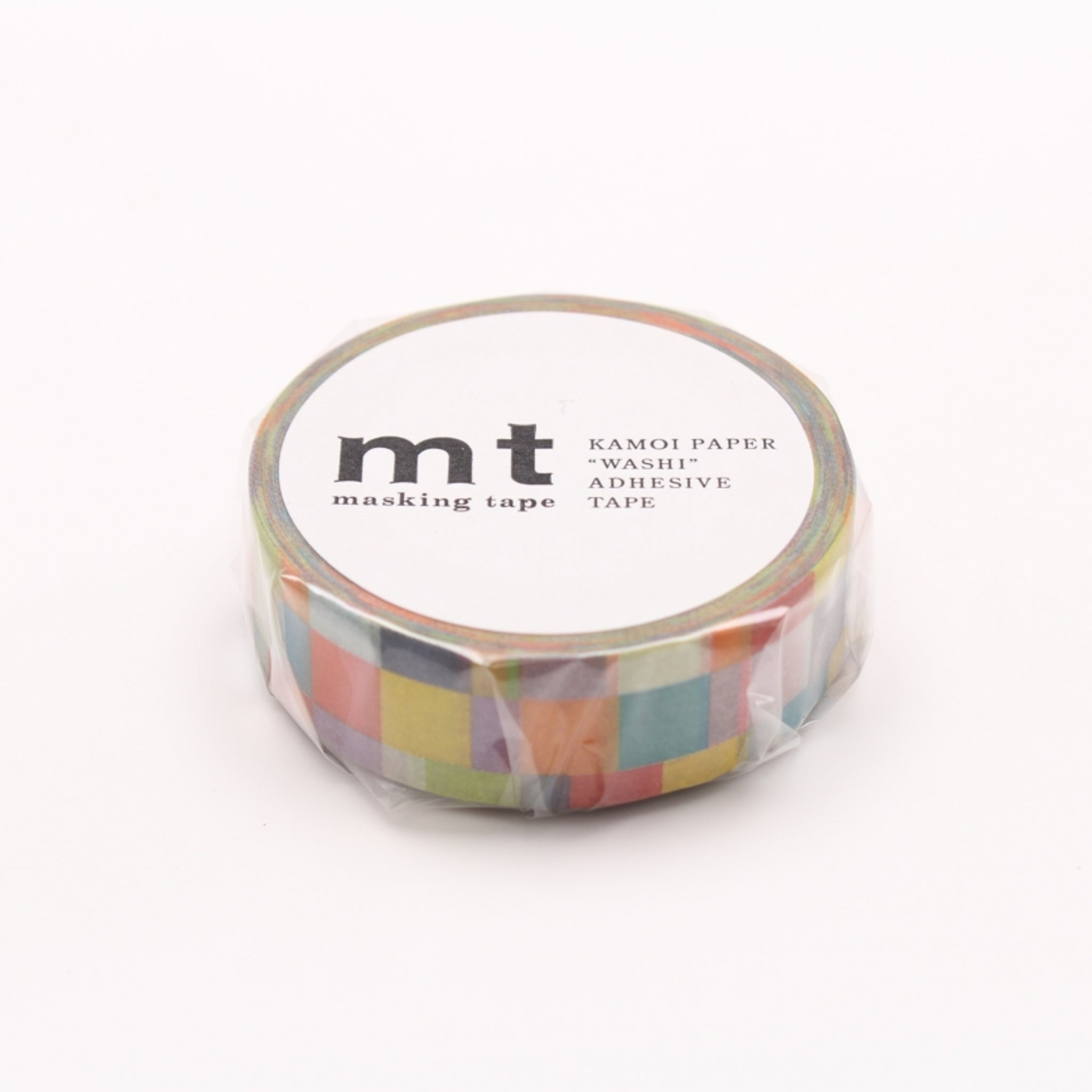 MT Deco Washi Tape Mosaic Bright