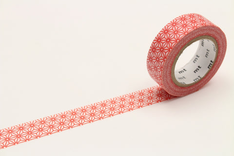 MT Asanoha Shuaka washi tape (MT01D215)