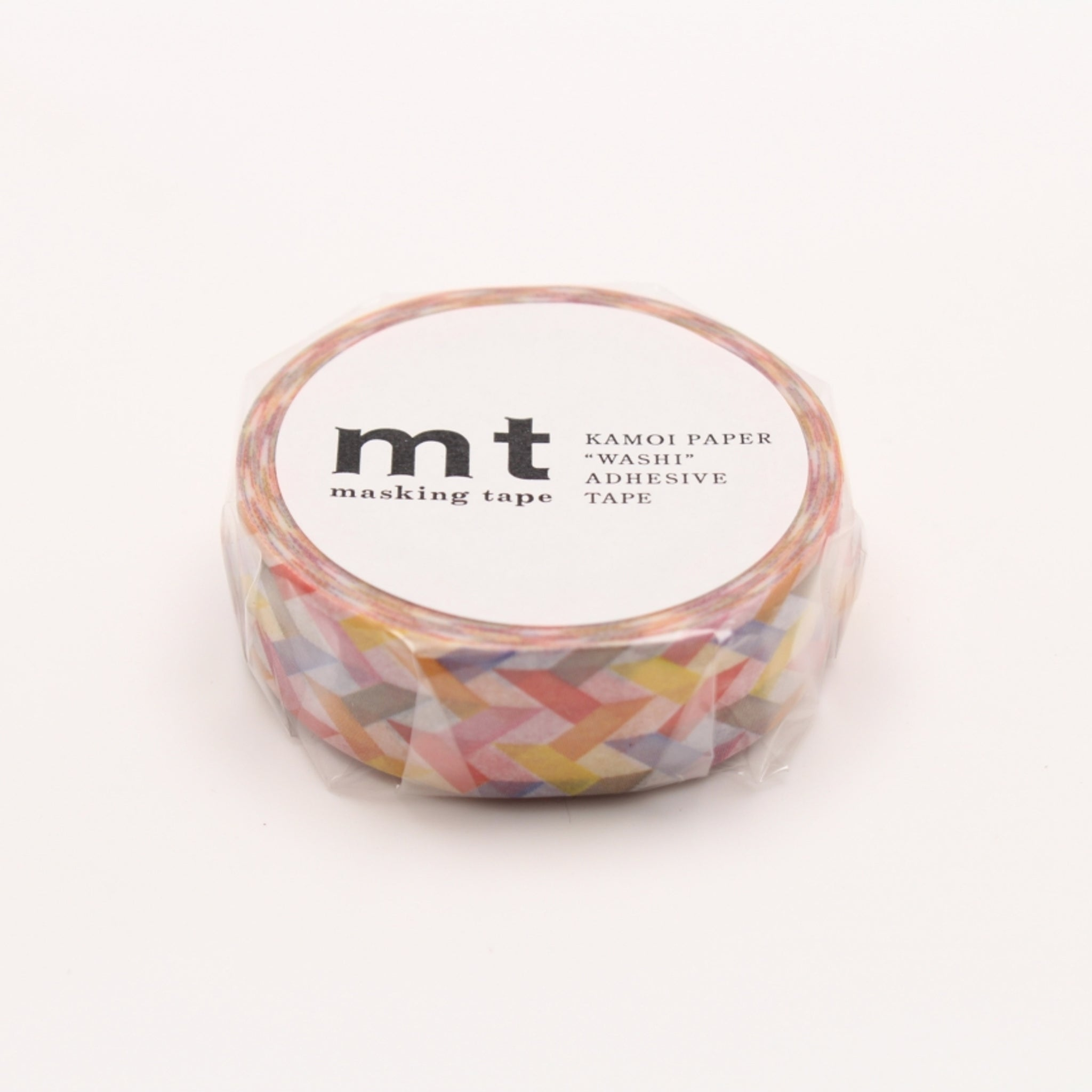 MT Deco Washi Tape Slash Red