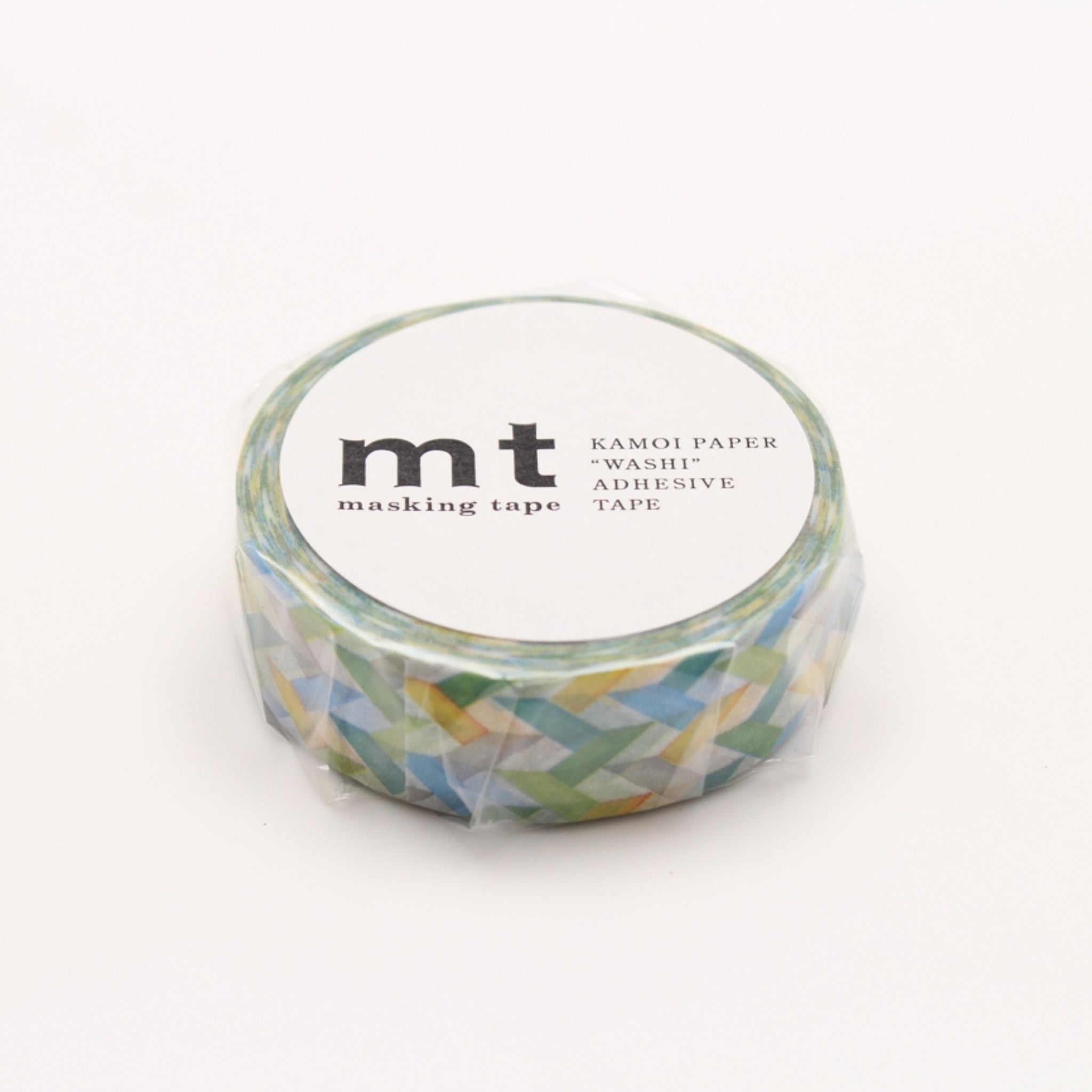 MT Deco Washi Tape Slash Green