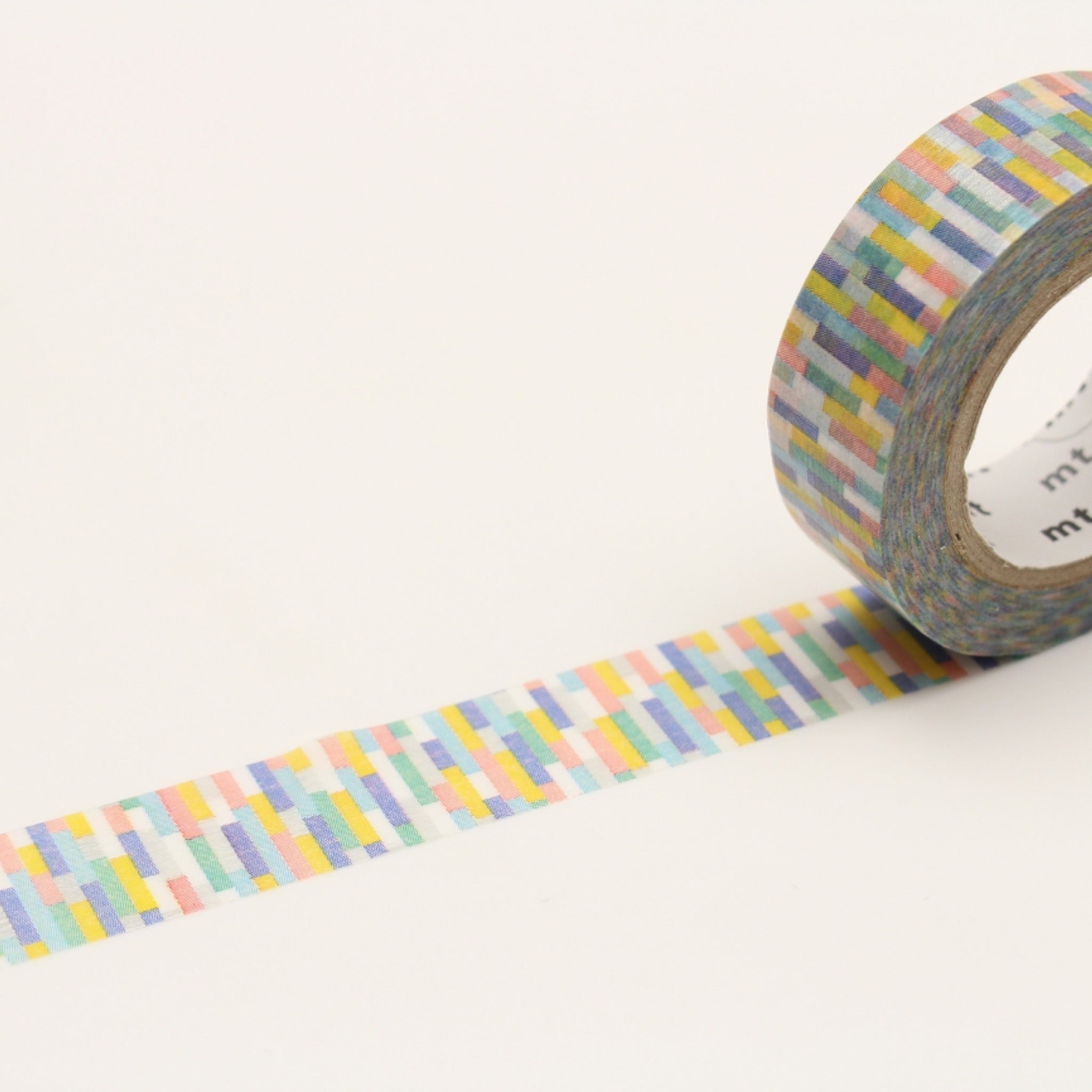 MT Deco Washi Tape Block Blue