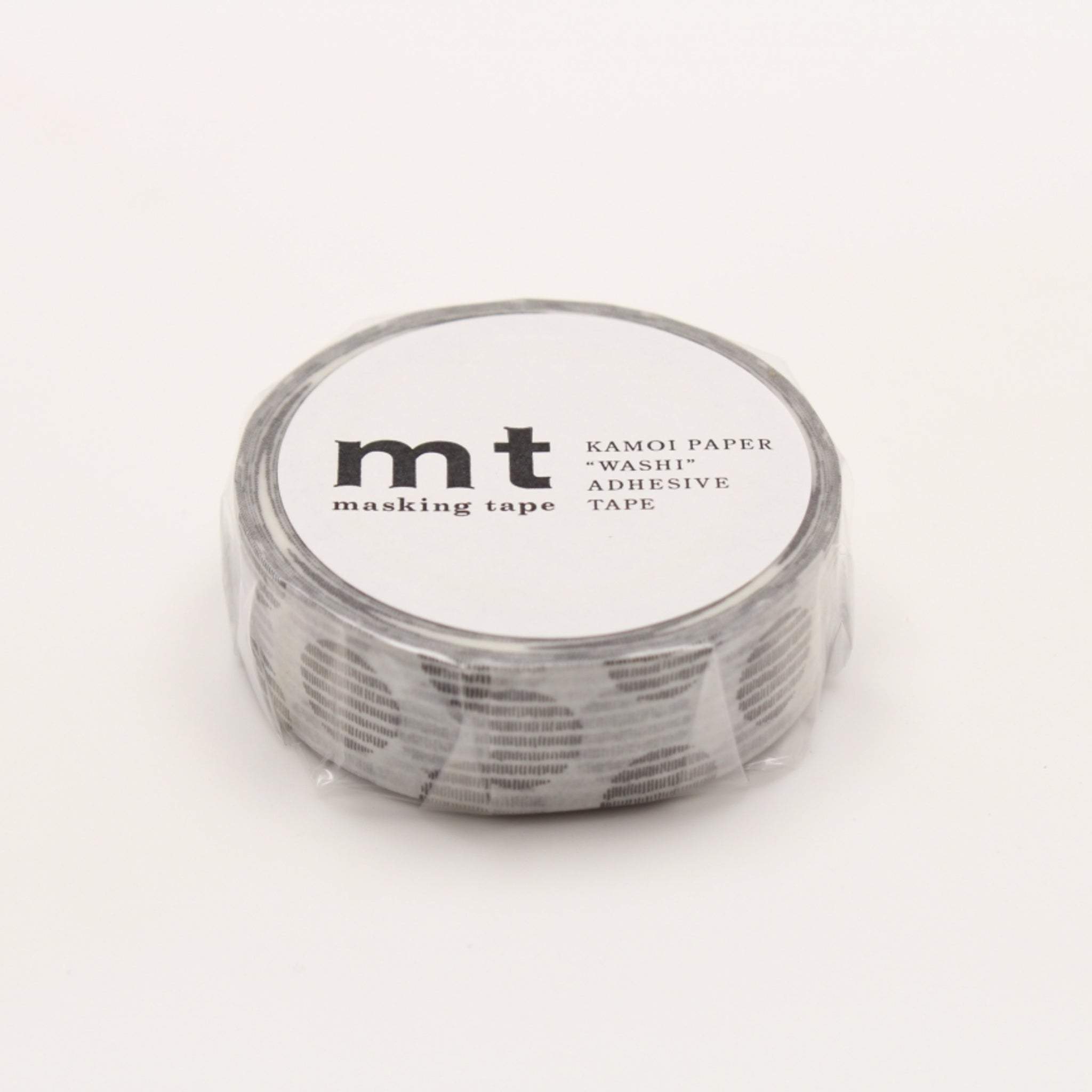(DC) MT Deco Washi Tape Script Dot Monochrome