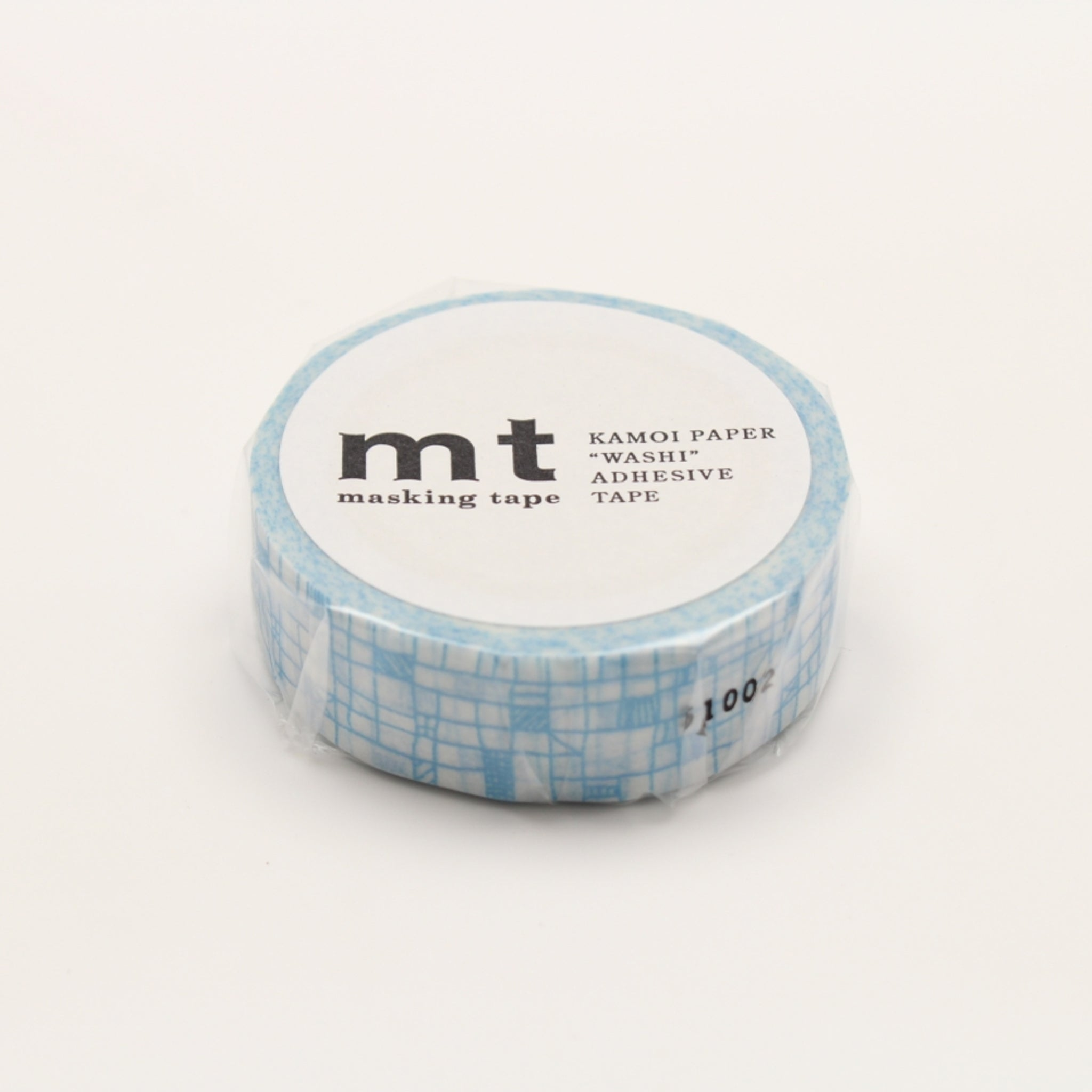 MT Deco Washi Tape Line Pale Blue