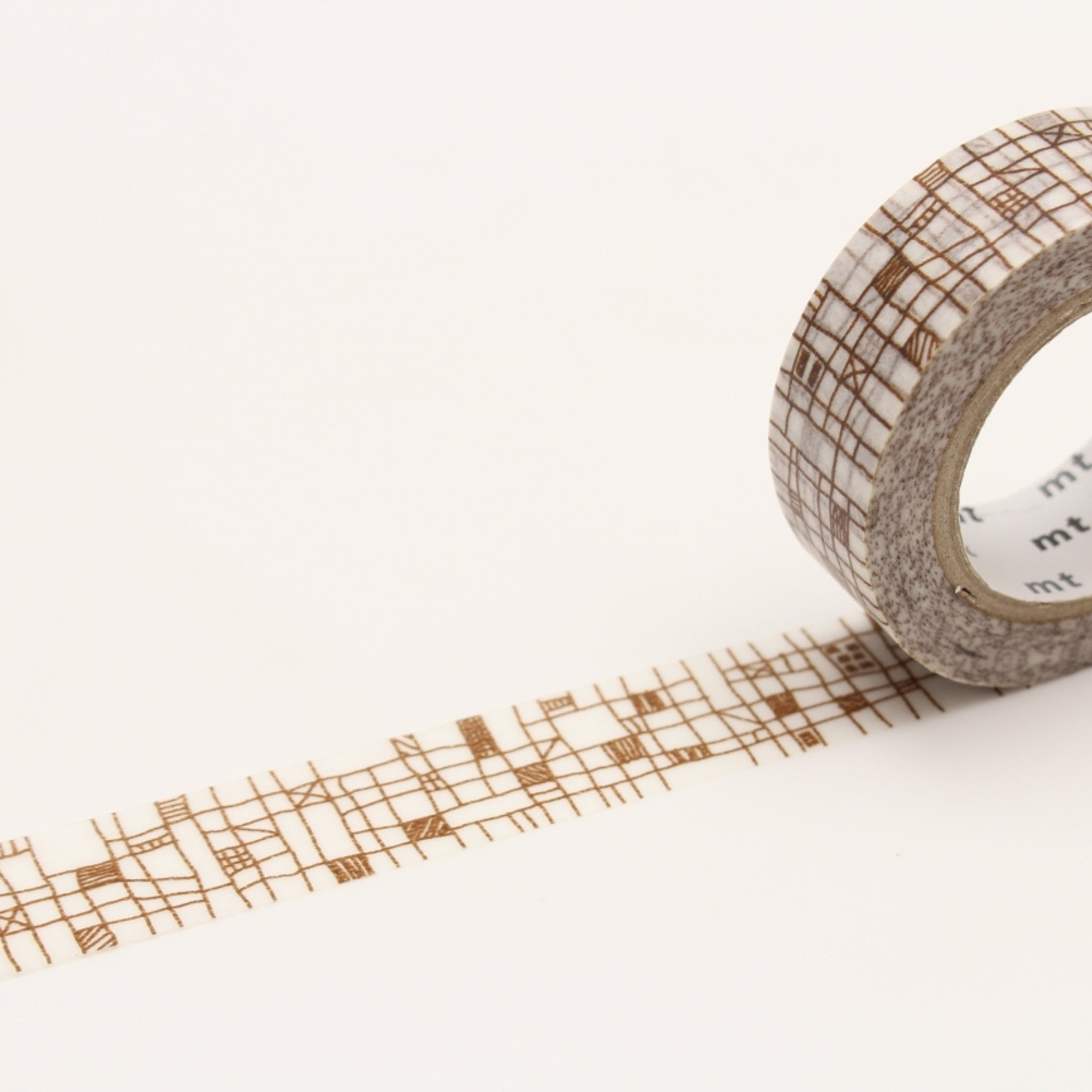 (DC) MT Deco Washi Tape Line Brown