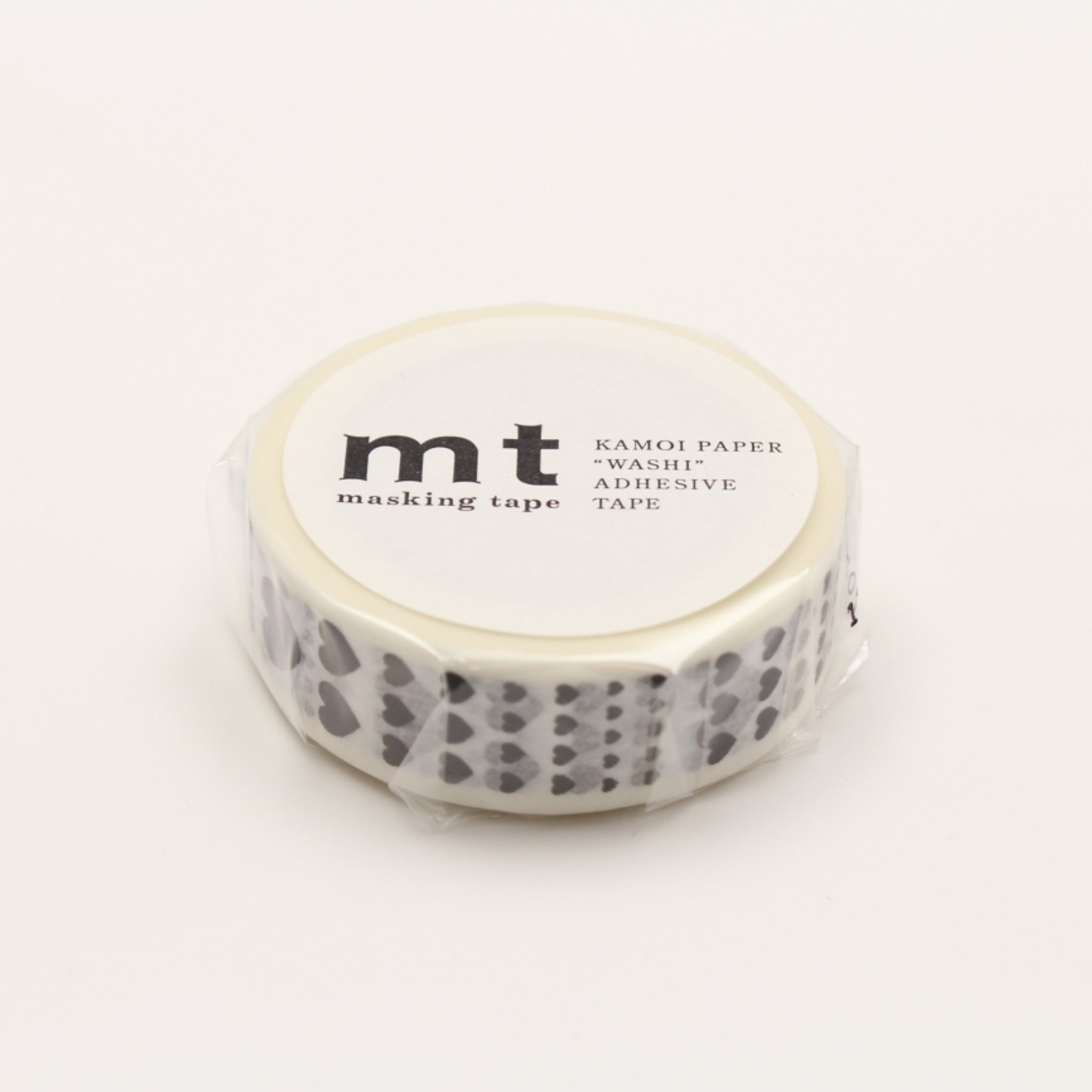 (DC) MT Deco Washi Tape Heart Scale