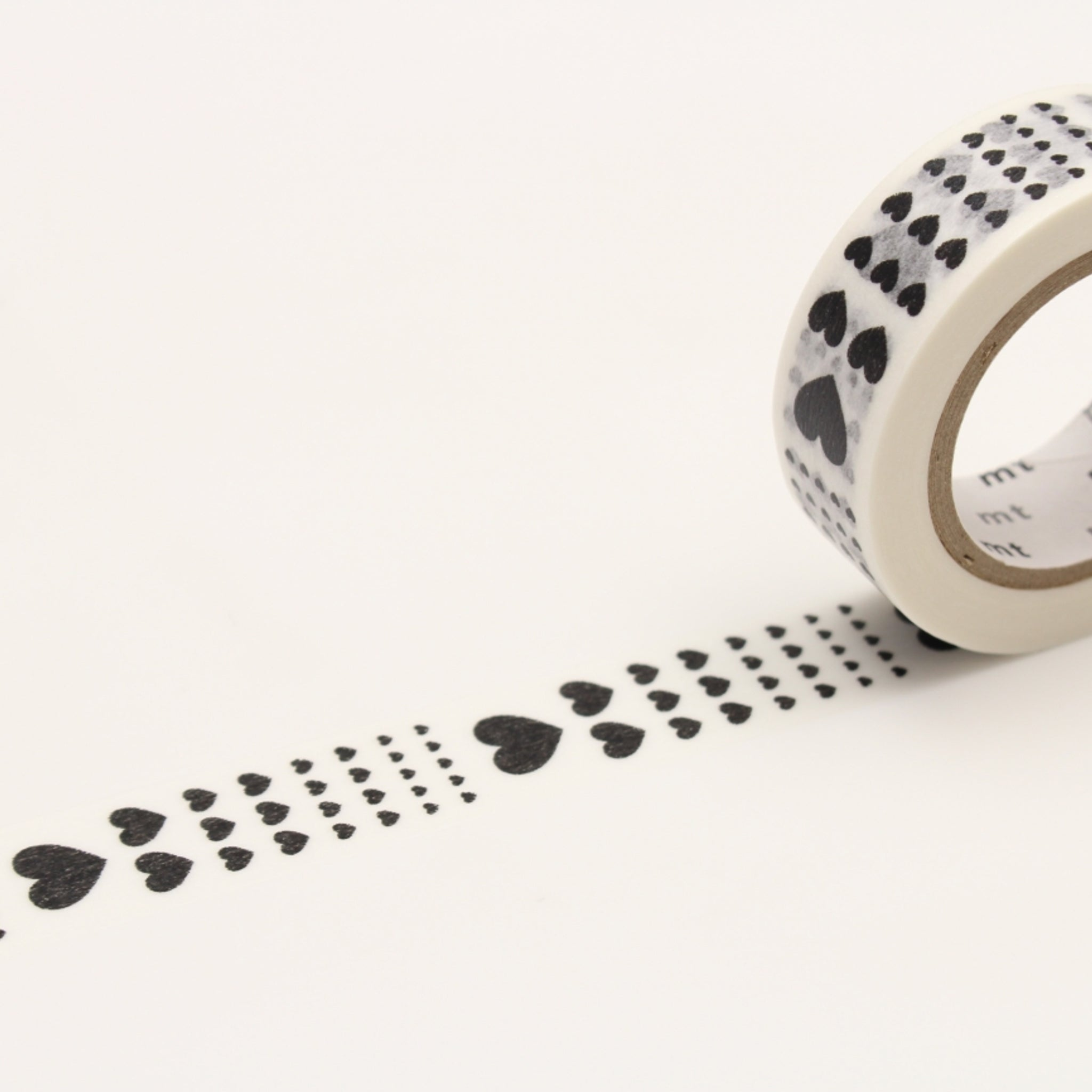 MT Deco Washi Tape Heart Scale