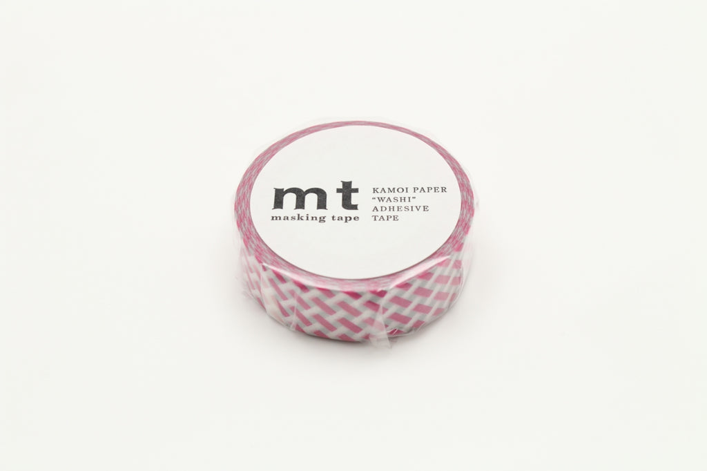 MT Net Check Pink washi tape (MT01D333)