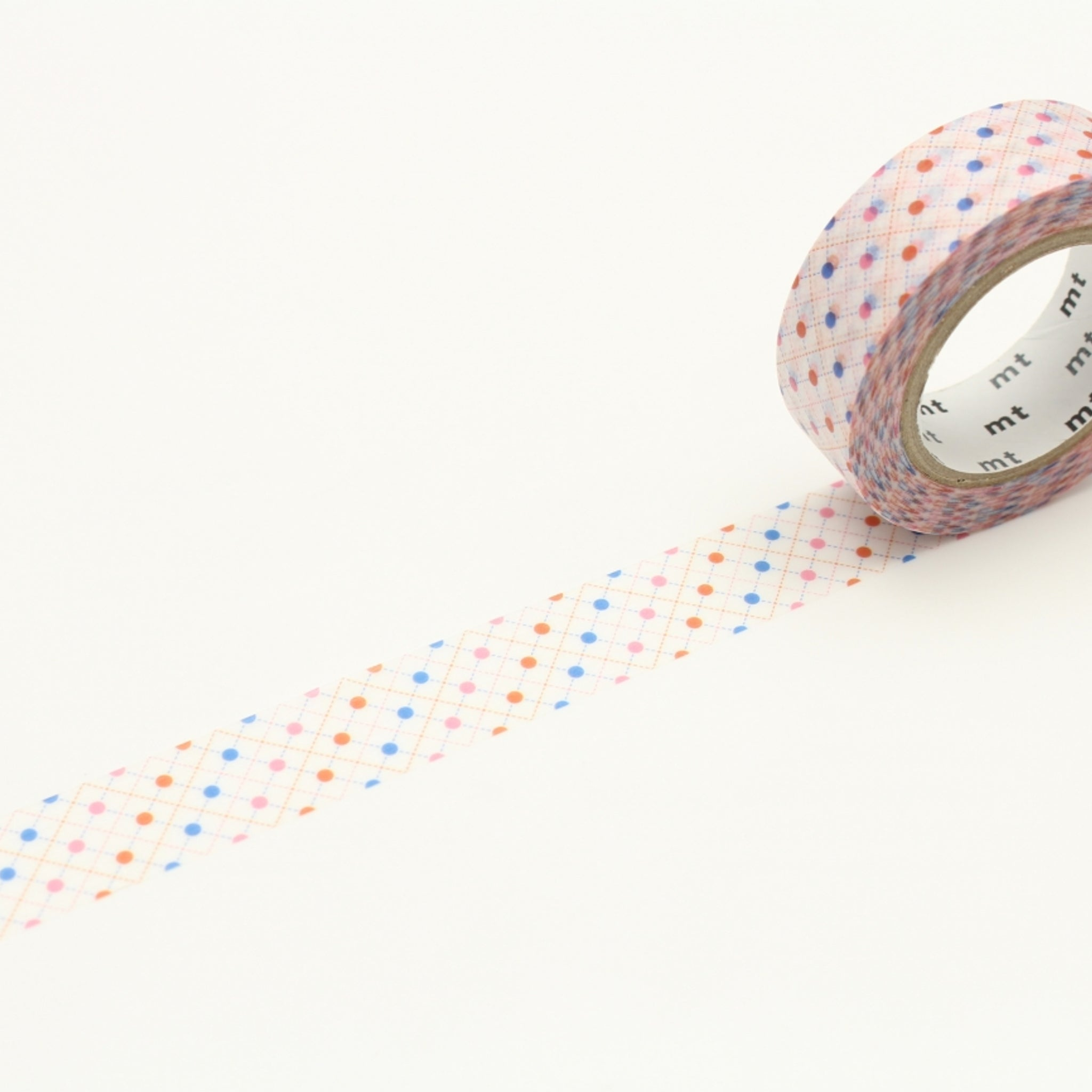 (DC) MT Deco Washi Tape Hasen Dot Red
