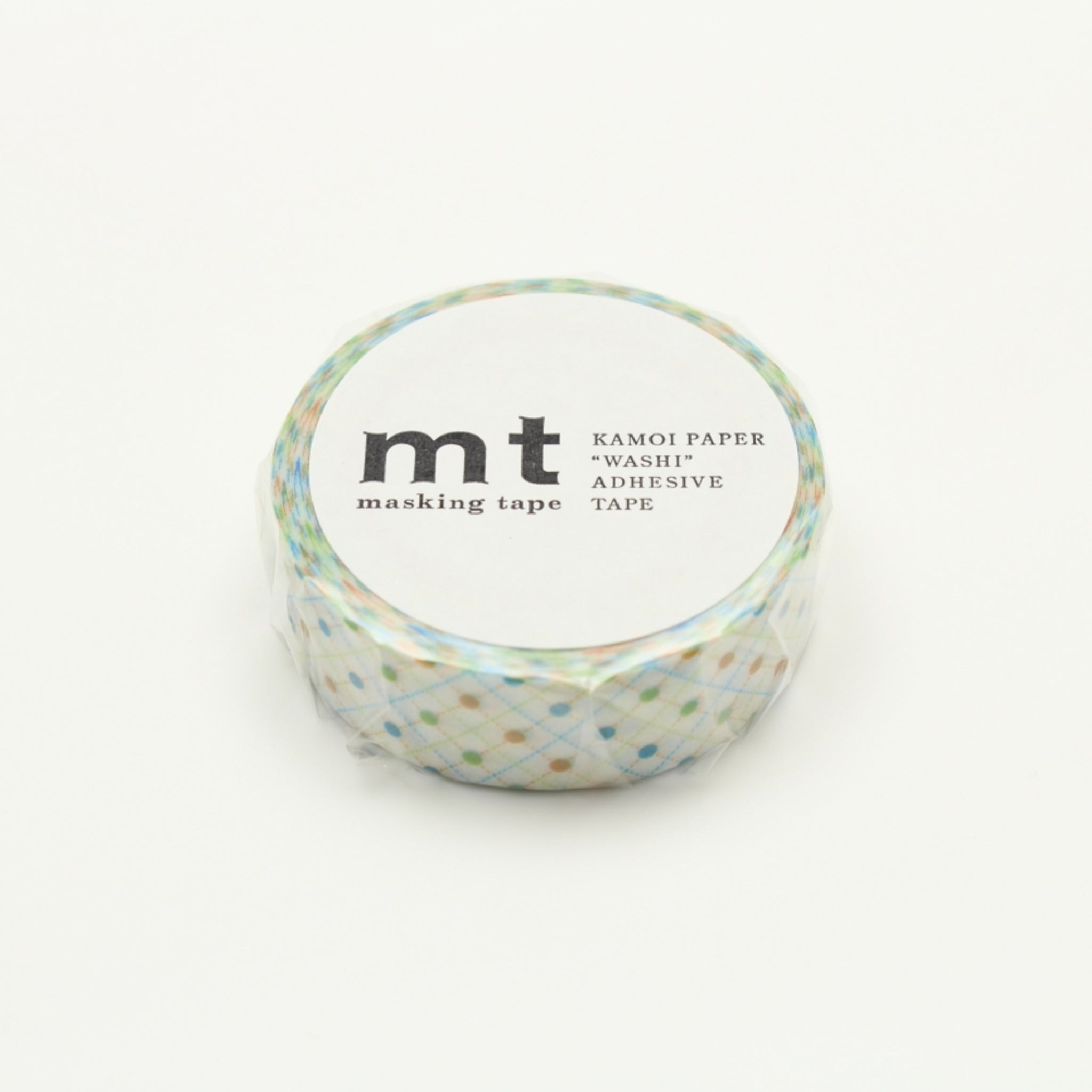 (DC) MT Deco Washi Tape Hasen Dot Green