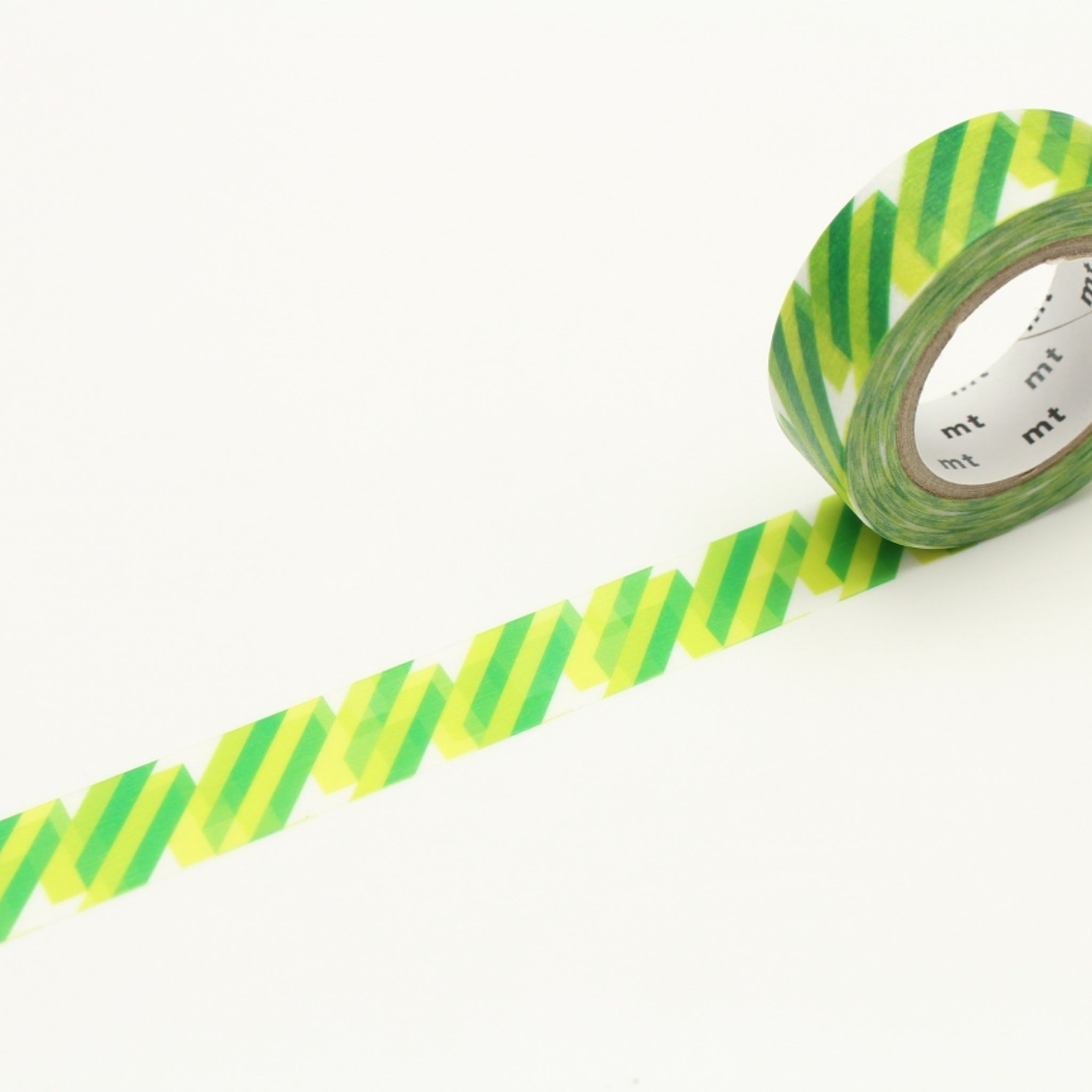 MT Deco Washi Tape Crystal Green