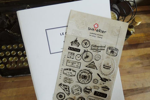 Suatelier Stamp sticker