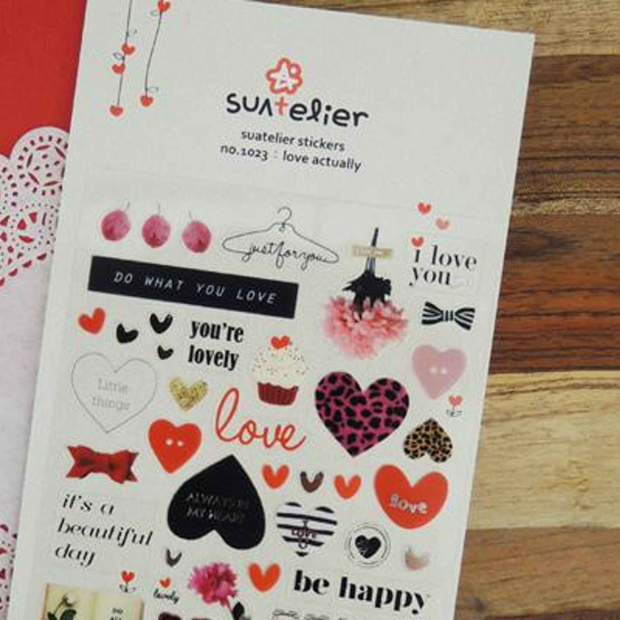 Suatelier Love Actually sticker