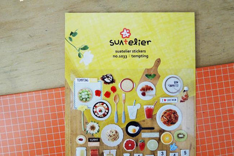 Suatelier Tempting sticker