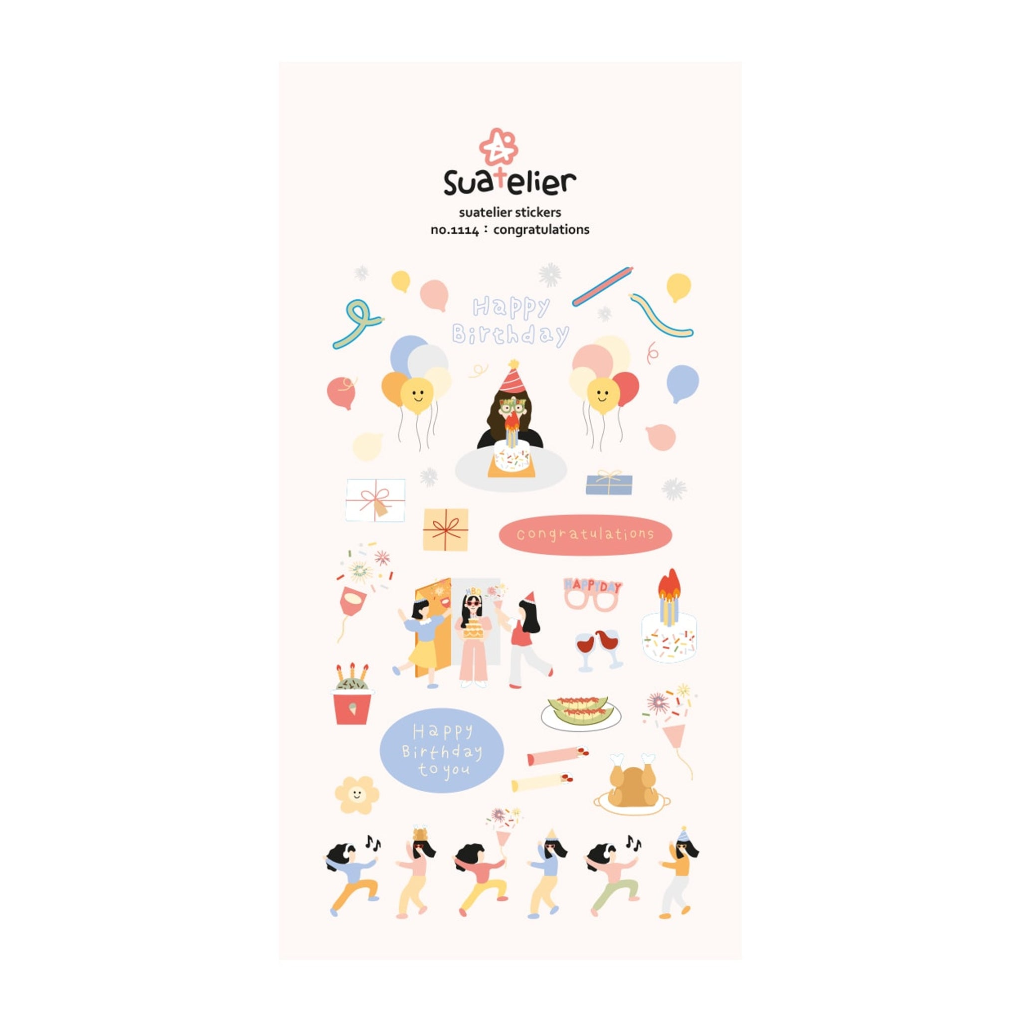 Suatelier Congratulations Sticker