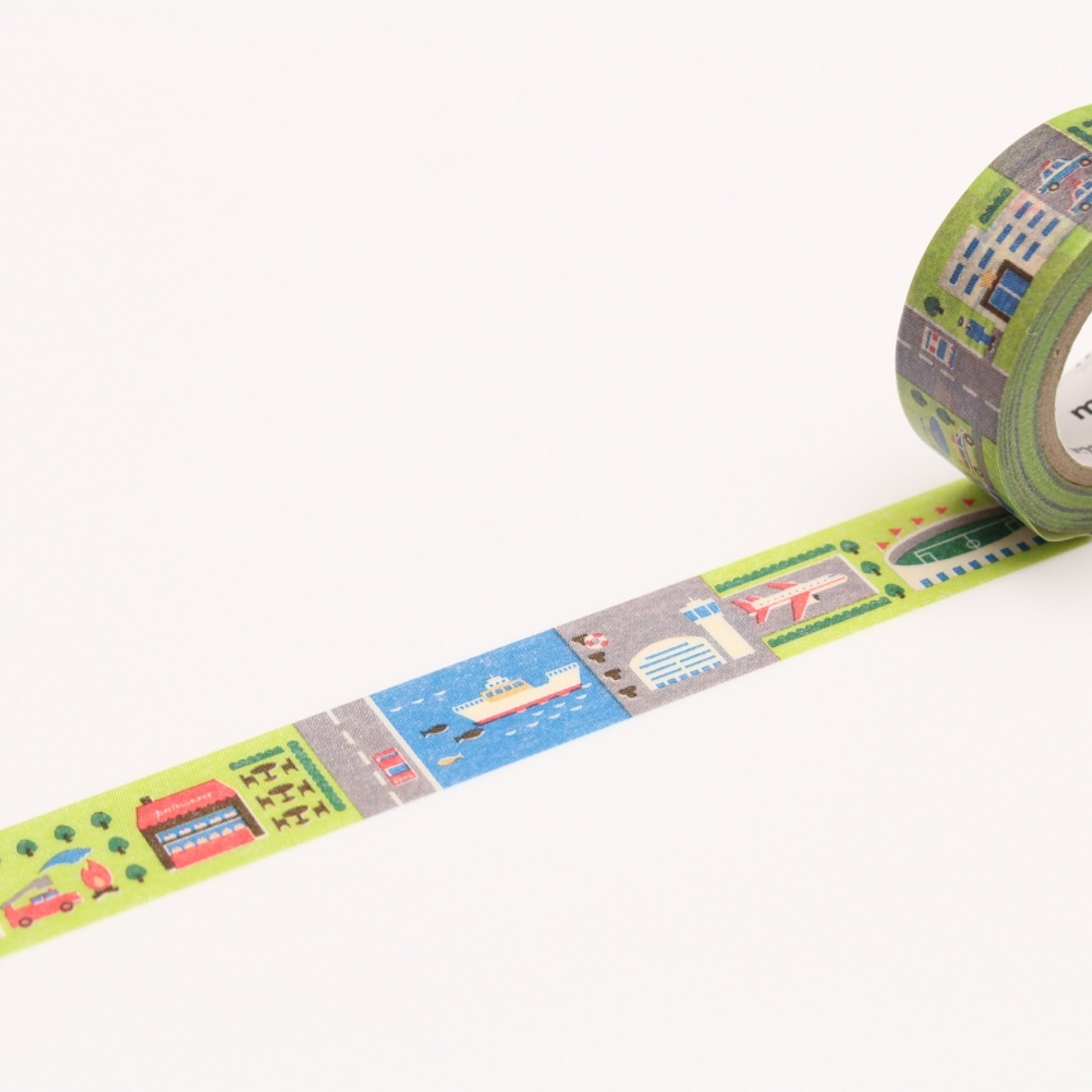 MT For Kids Washi Tape Work - Town