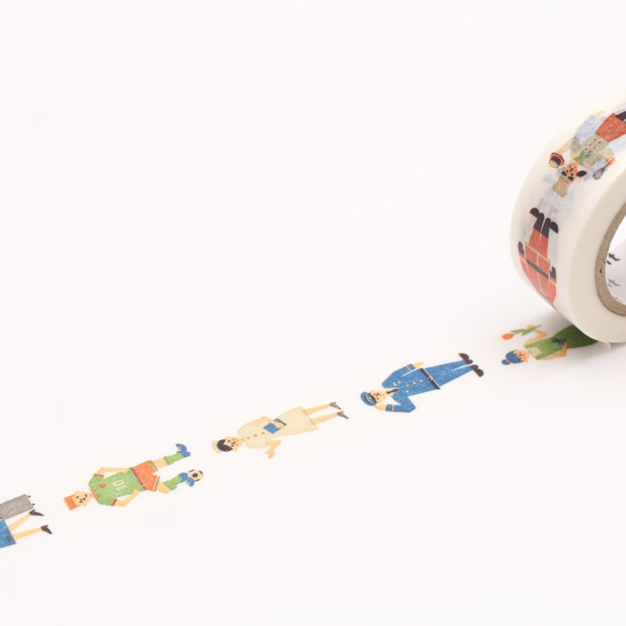 MT For Kids Washi Tape Work - Human