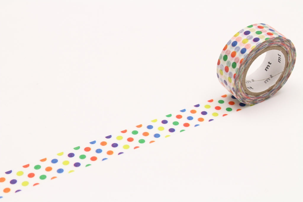 mt Colorful Dot washi tape