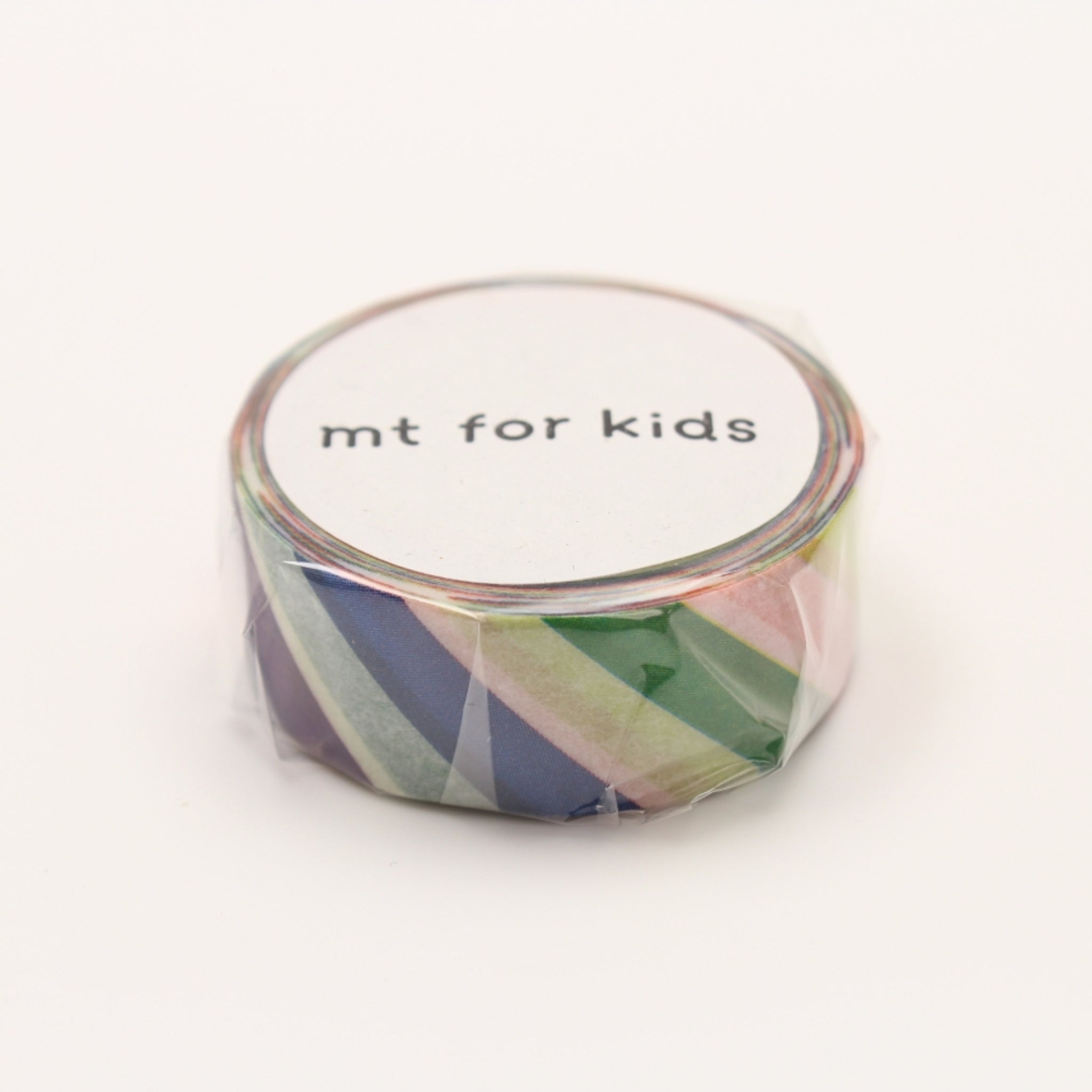 MT For Kids Washi Tape Colorful Stripe