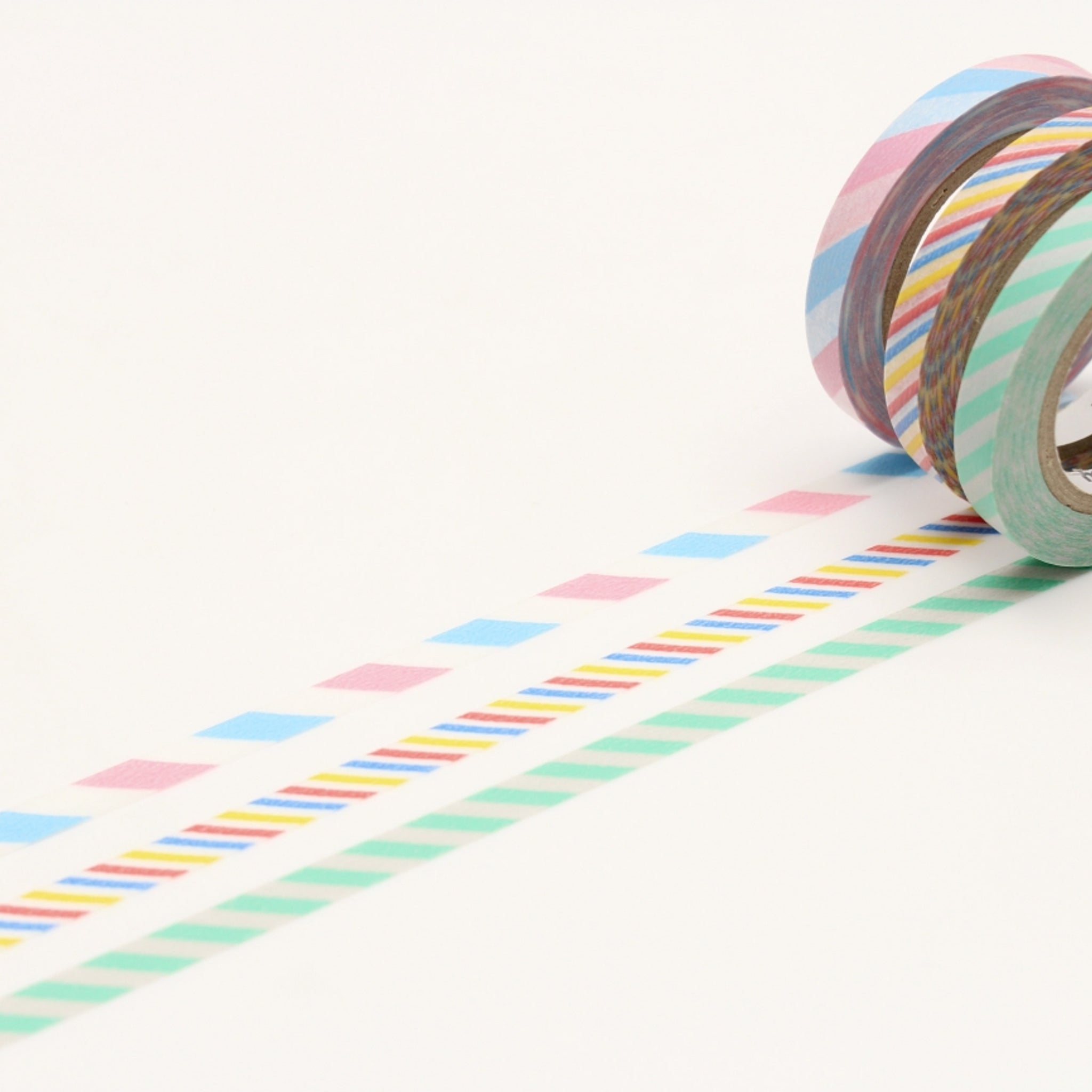 MT Slim 6mm Washi Tape Set Twist Cord A