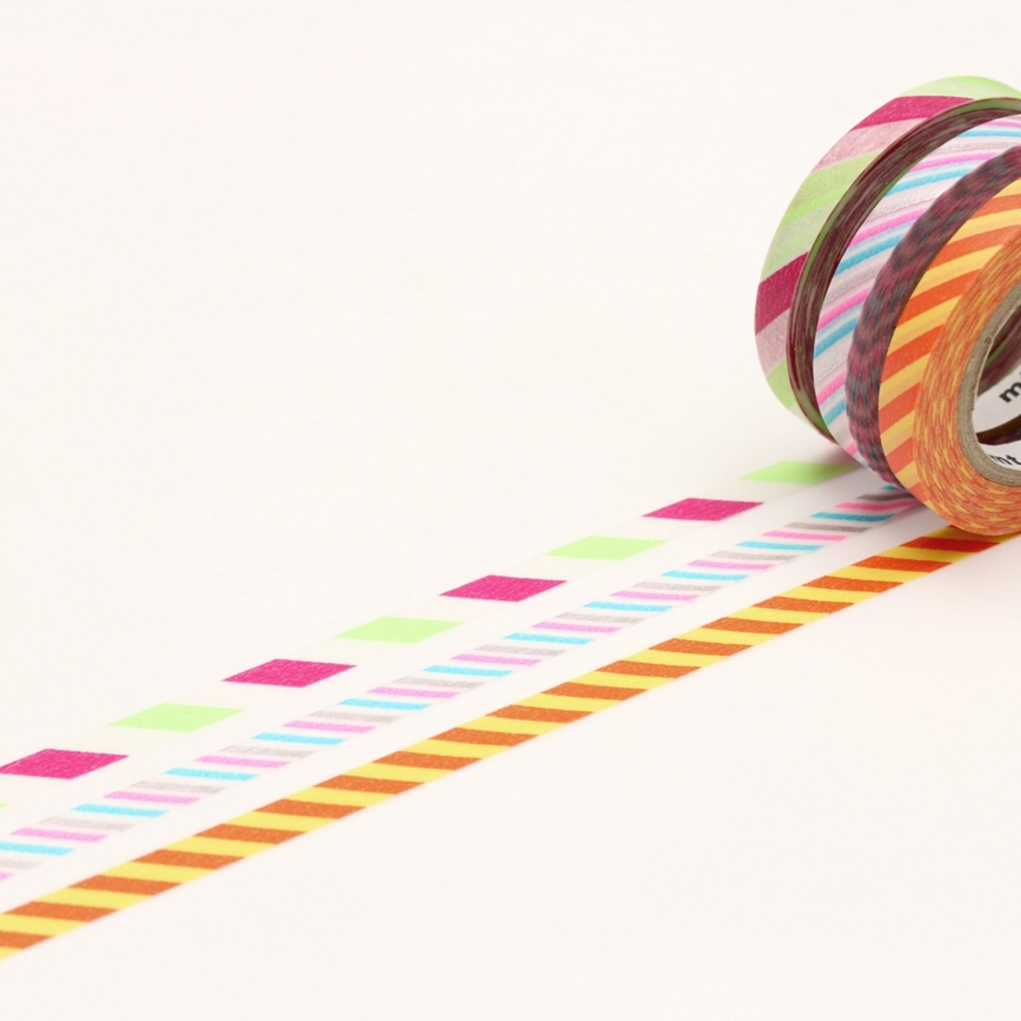 MT Slim 6mm Washi Tape Set Twist Cord B
