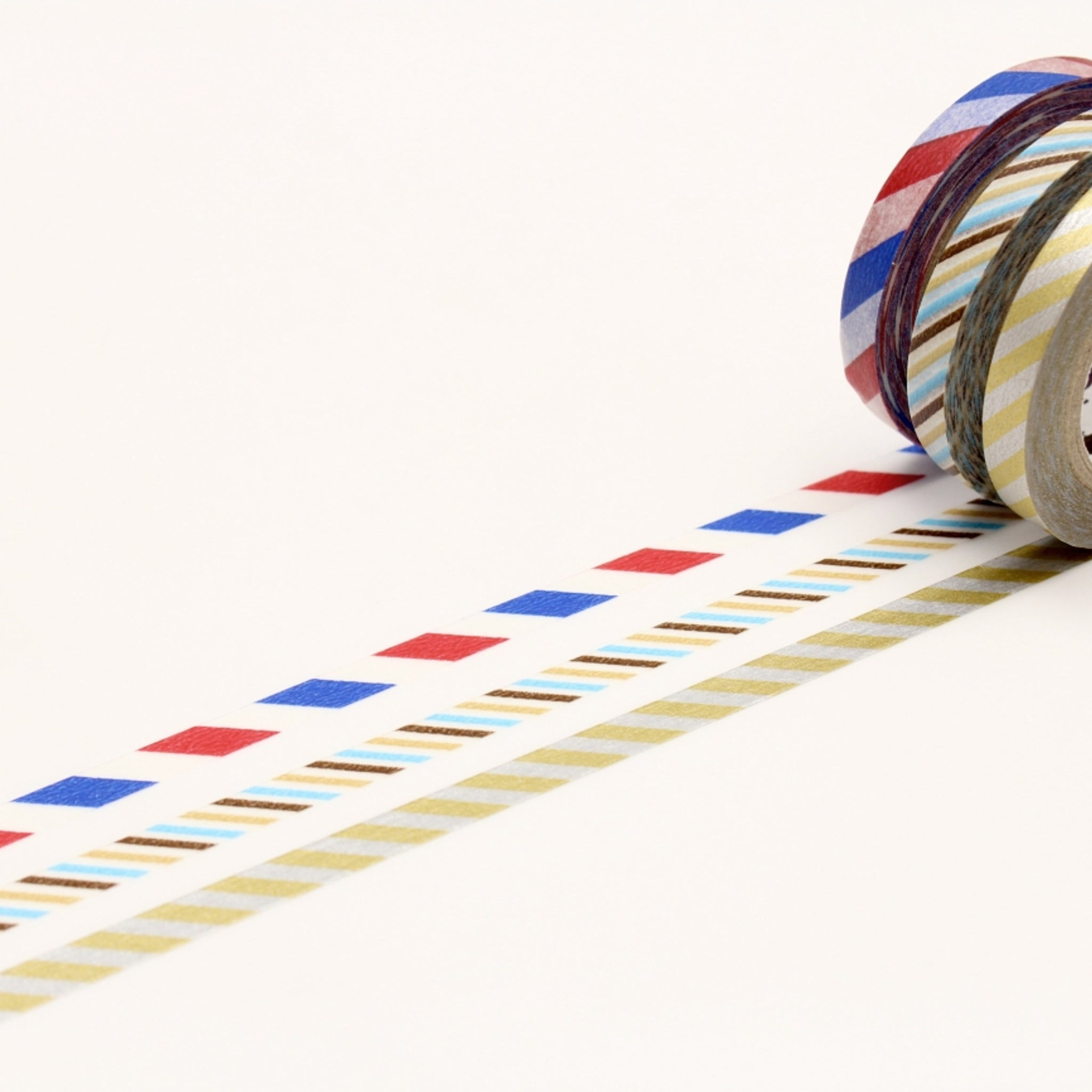 MT Slim 6mm Washi Tape Set Twist Cord C