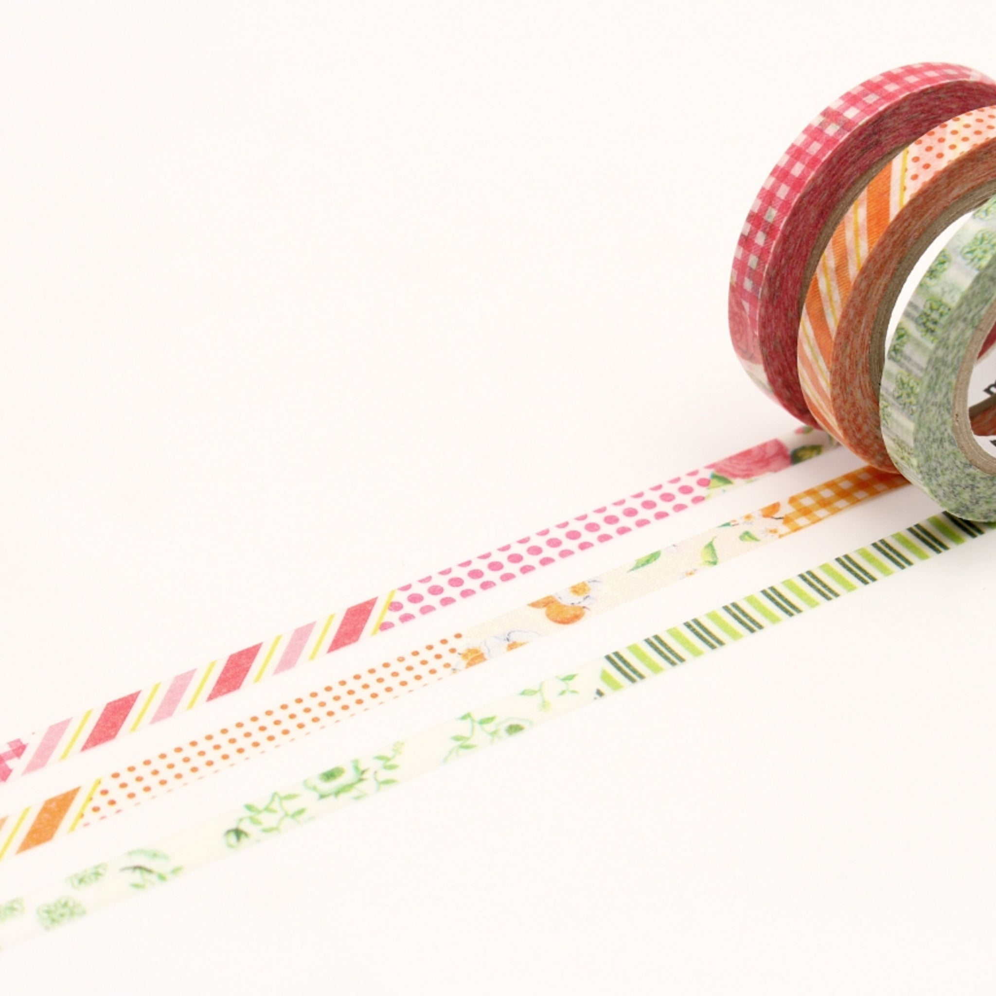 MT Slim 6mm Washi Tape Set Deco D