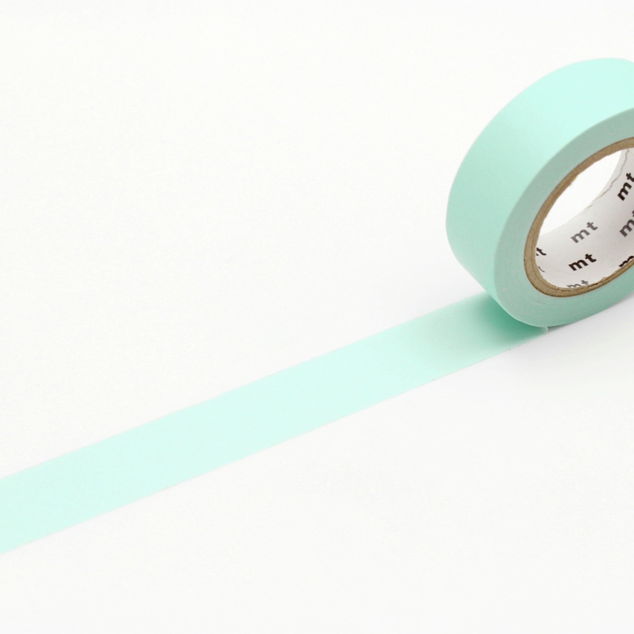 MT Basic Washi Tape Pastel Emerald