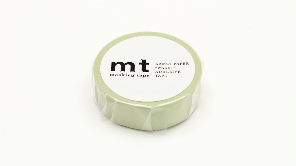 mt Pastel Olive washi tape