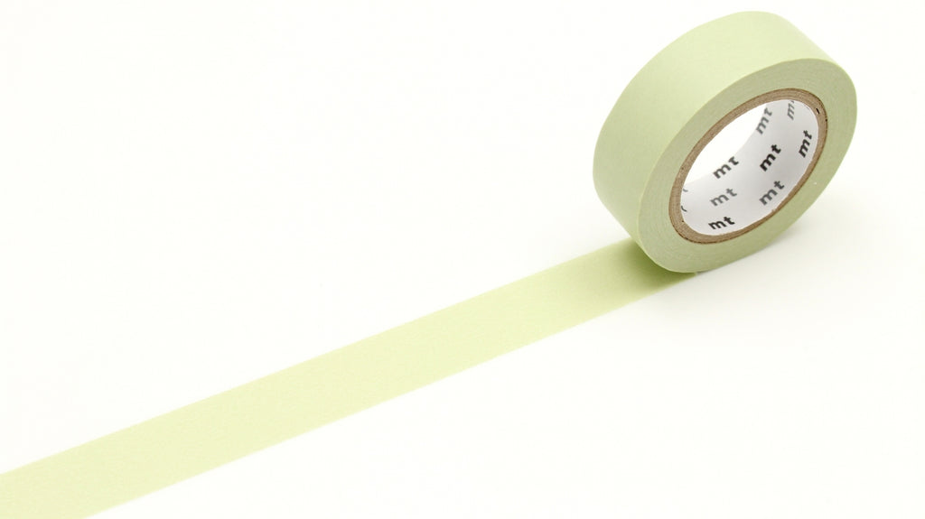 MT Pastel Olive washi tape (MT01P356) | Washi Wednesday