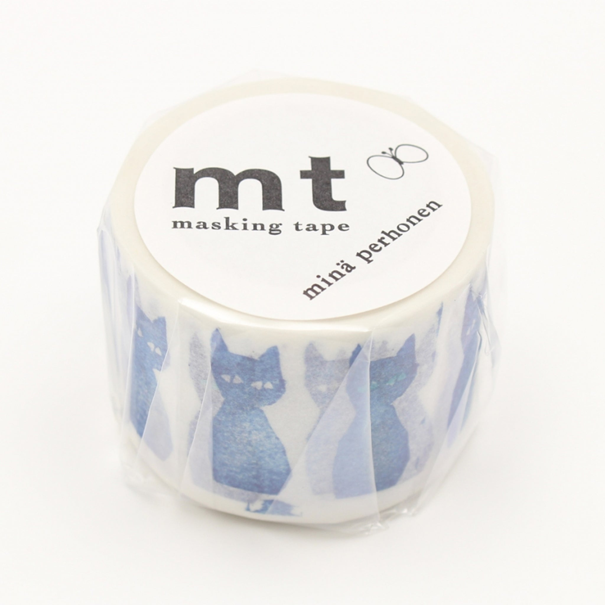 MT x Mina Perhonen Washi Tape Ao-Neko