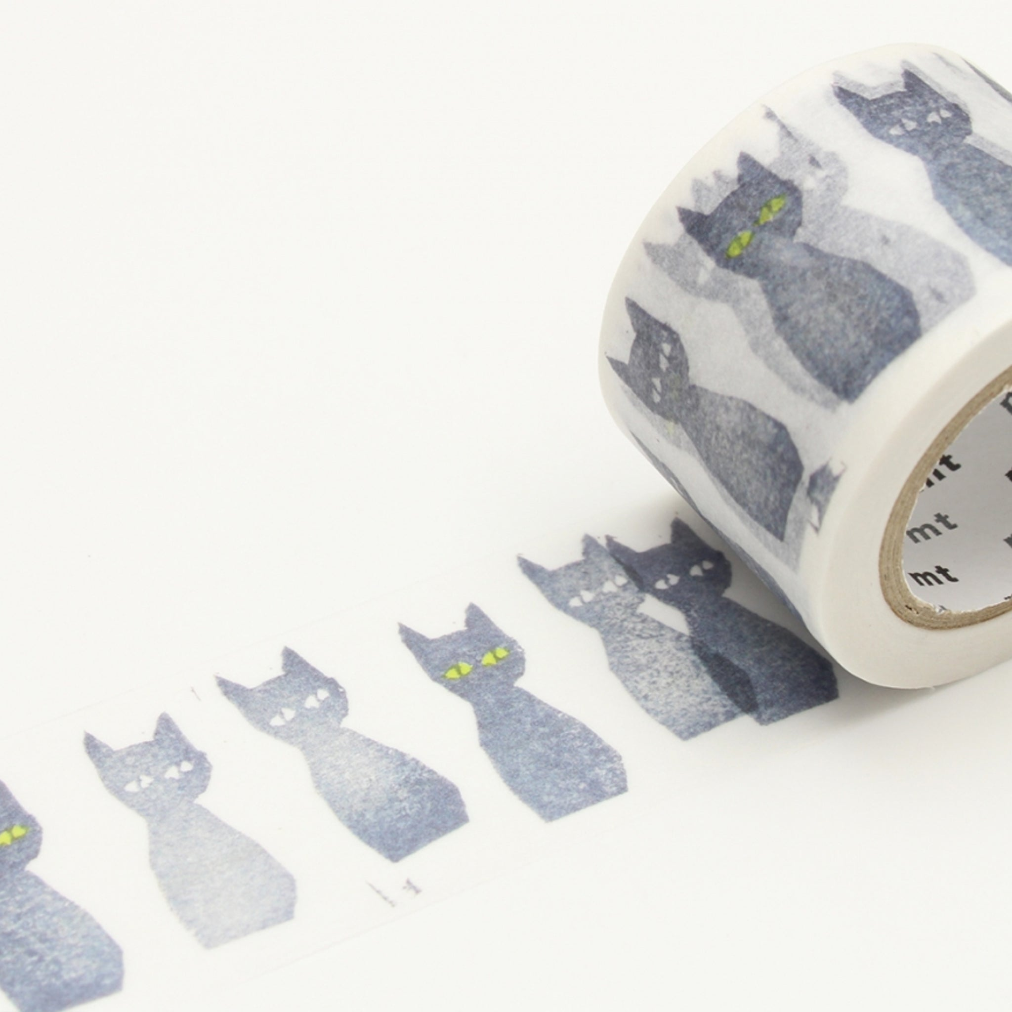 MT x Mina Perhonen Washi Tape Kuro-Neko