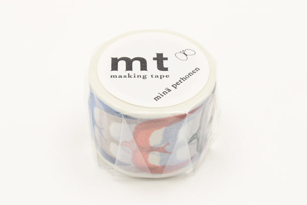 mt x Mina Perhonen Go! washi tape (MTMINA35) | Washi Wednesday