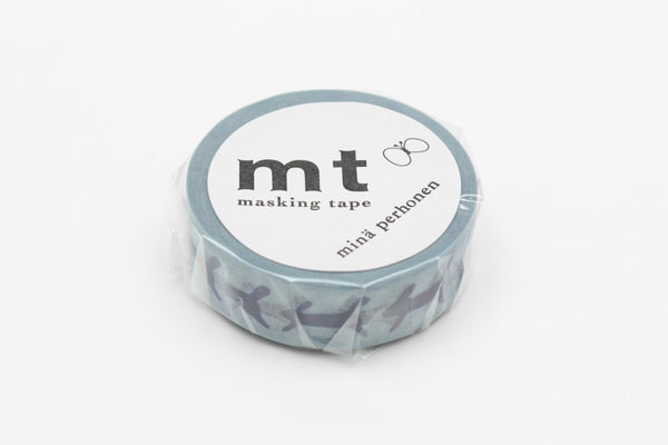 mt x Mina Perhonen Run Run Run washi tape (MTMINA33) | Washi Wednesday