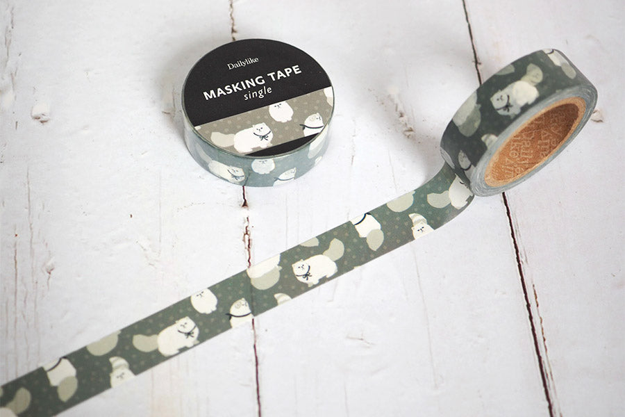 Dailylike Masking Tape 15mm - 116 Persian Cat